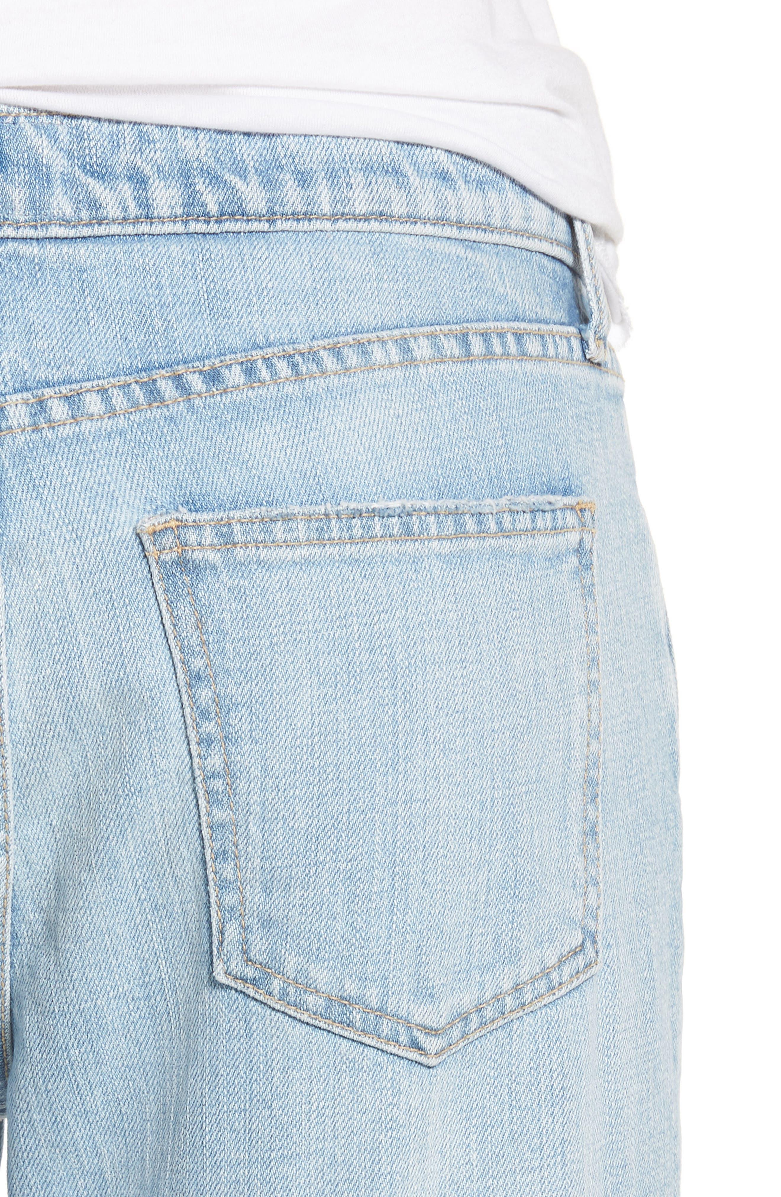 The Fling Ripped Boyfriend Jeans,                             Alternate thumbnail 4, color,                             Nova