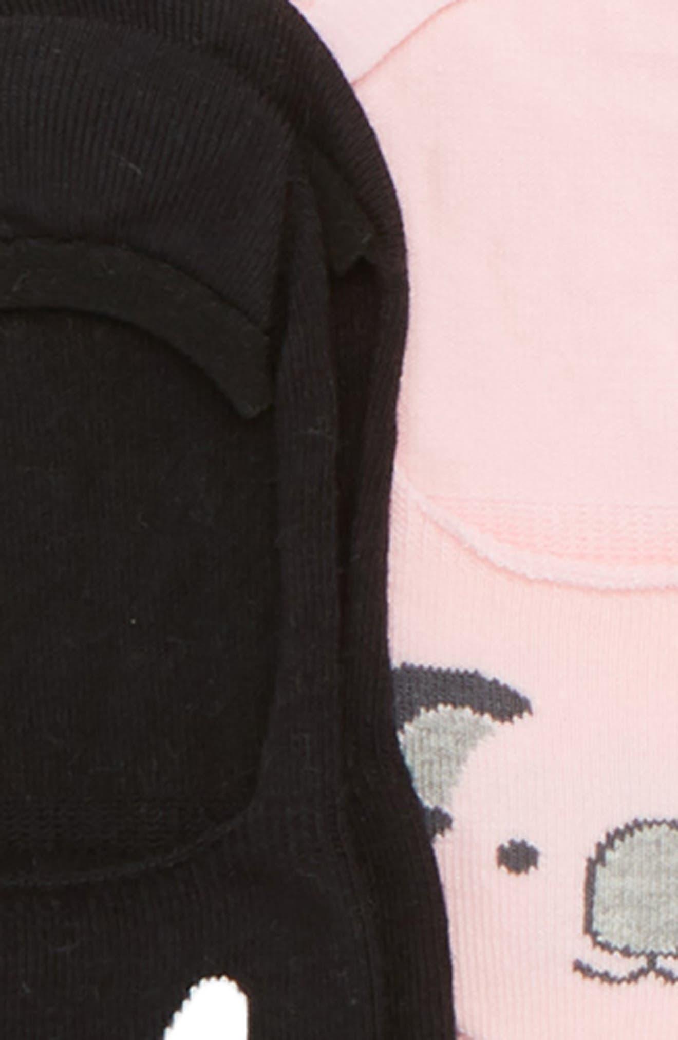 Alternate Image 2  - Tucker + Tate 6-Pack Critter No-Show Socks (Littel Kid & Big Kid)