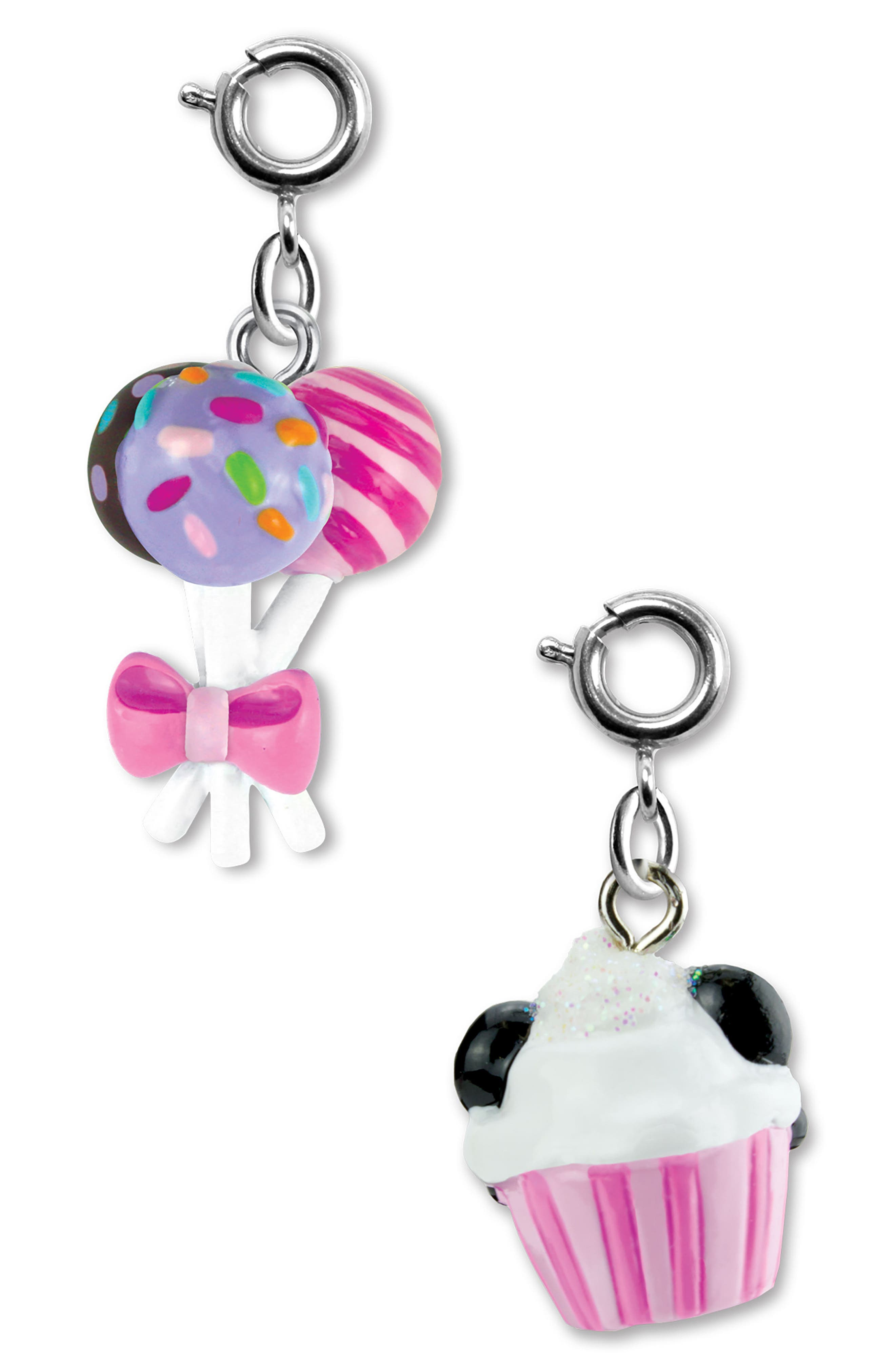 CHARM IT!<sup>®</sup> 2-Pack Panda & Cake Pops Charms,                             Alternate thumbnail 2, color,                             Multi