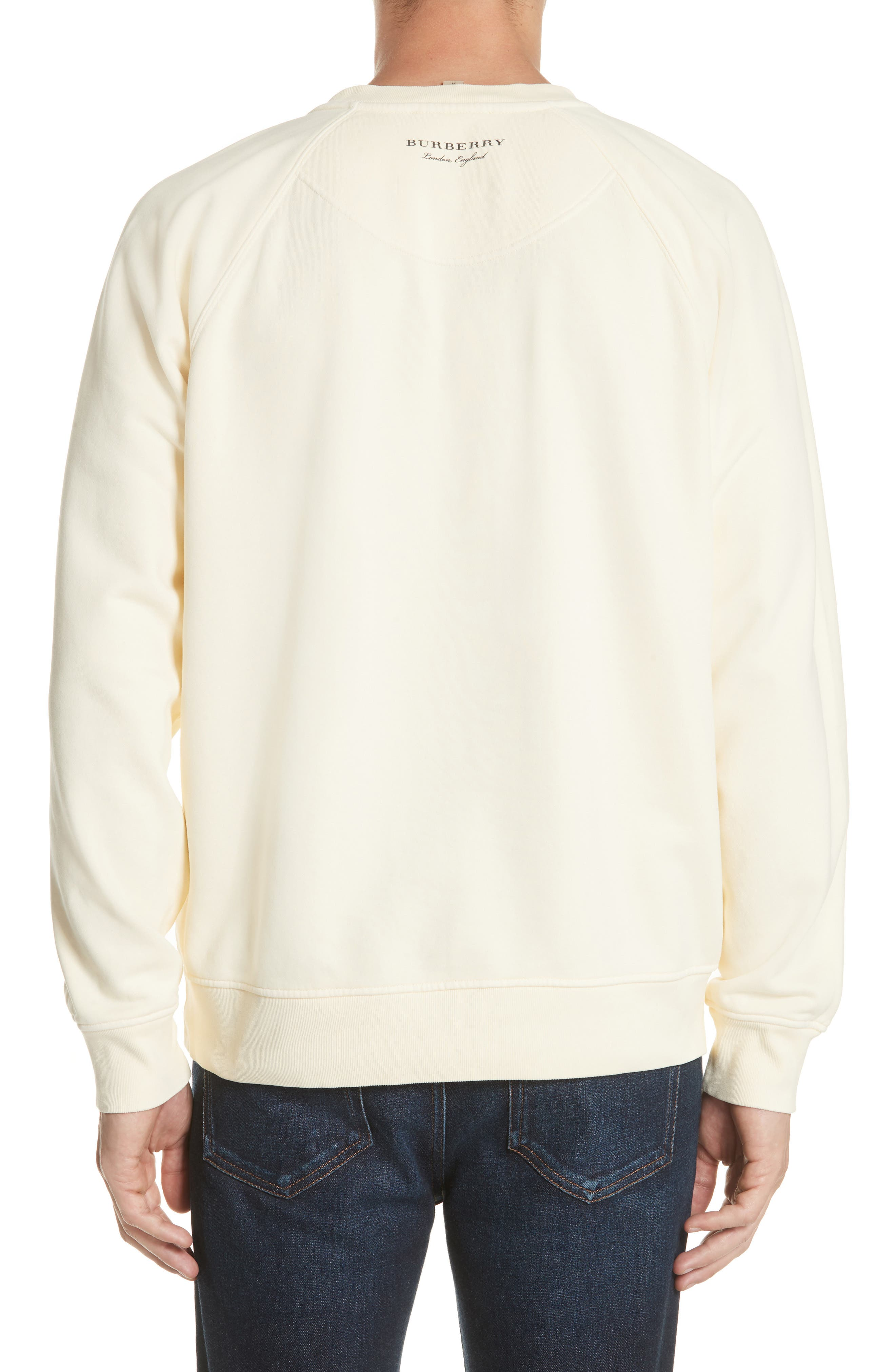 Earlford Graphic Sweatshirt,                             Alternate thumbnail 2, color,                             Pale Yellow