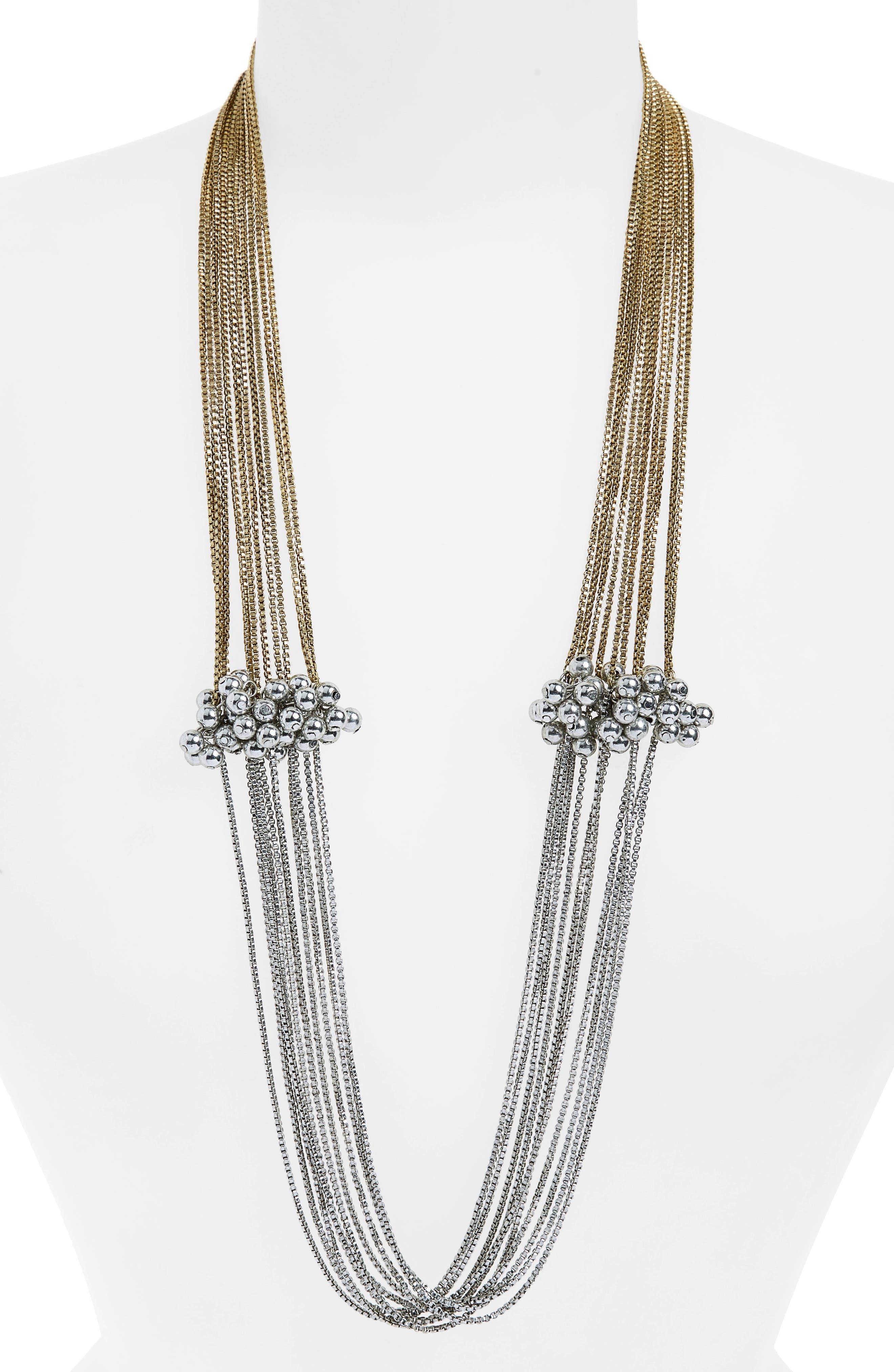 Shiraleah Serendipity Multistrand Necklace