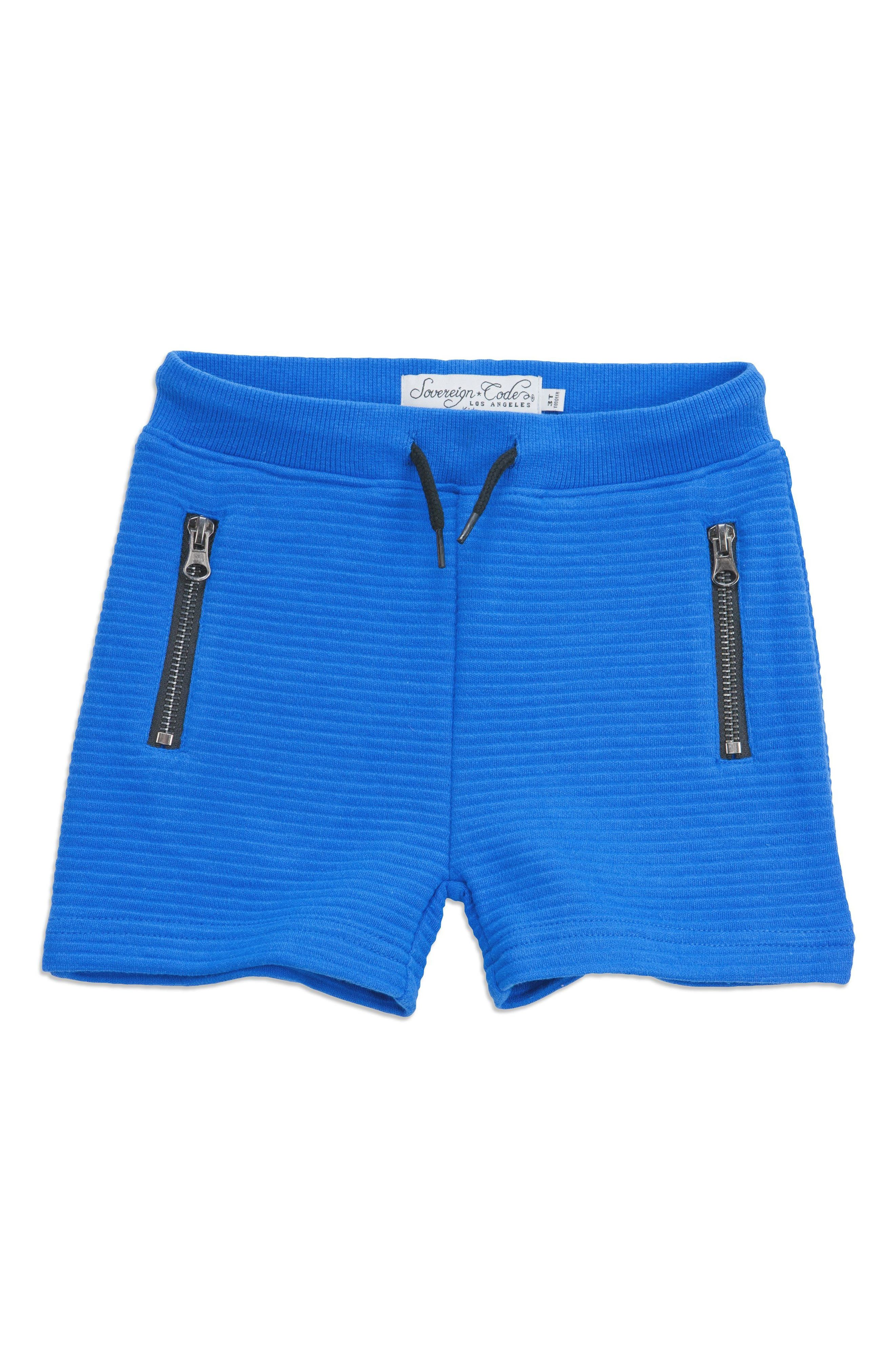 Academy Shorts,                             Main thumbnail 1, color,                             Cobalt