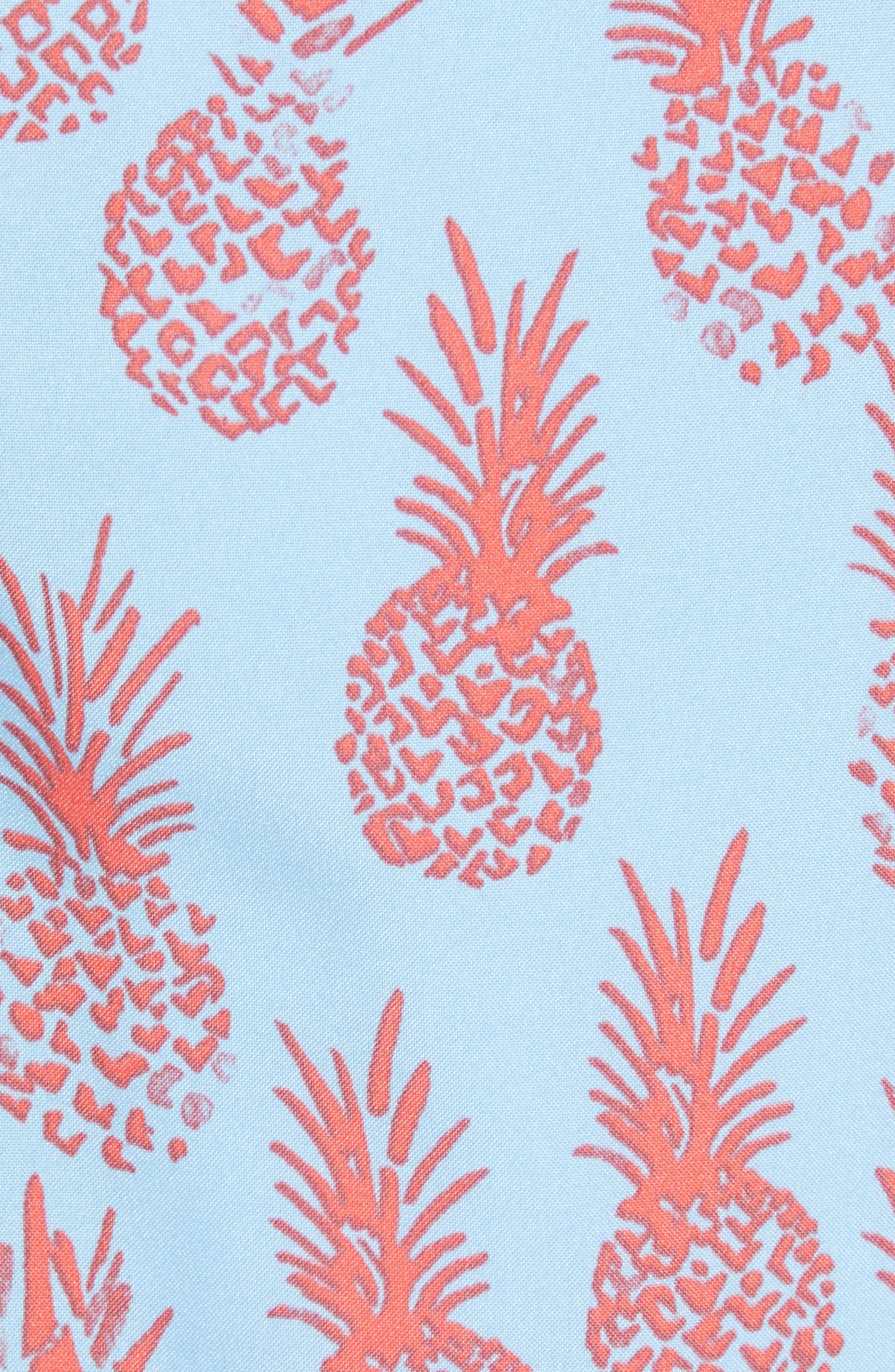 Banzai 7-Inch Swim Trunks,                             Alternate thumbnail 5, color,                             Pineapple Stamp
