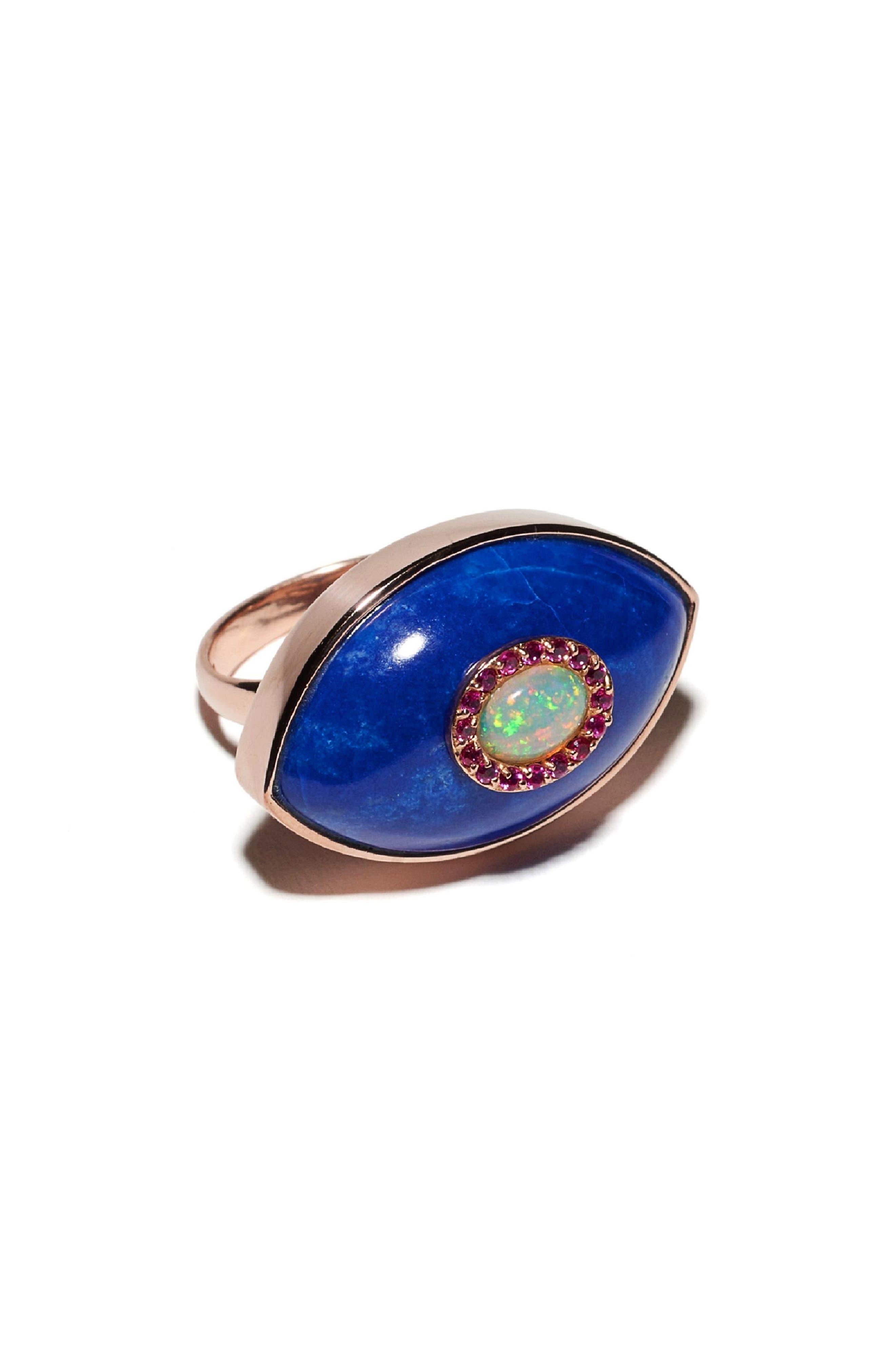 MARLO LAZ Iris Ring in Rose Gold