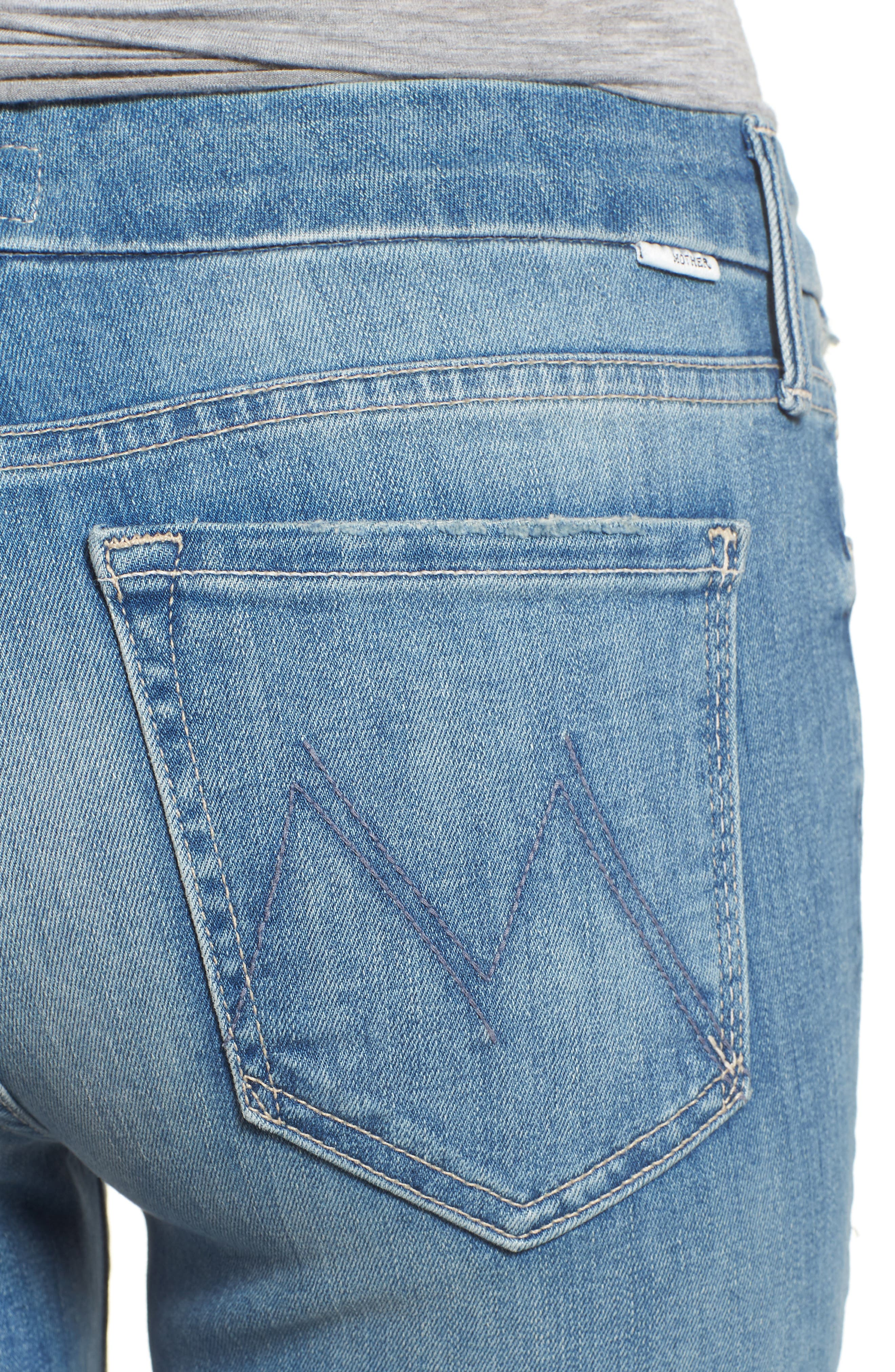 The Looker Crop Skinny Jeans,                             Alternate thumbnail 4, color,                             Well Played