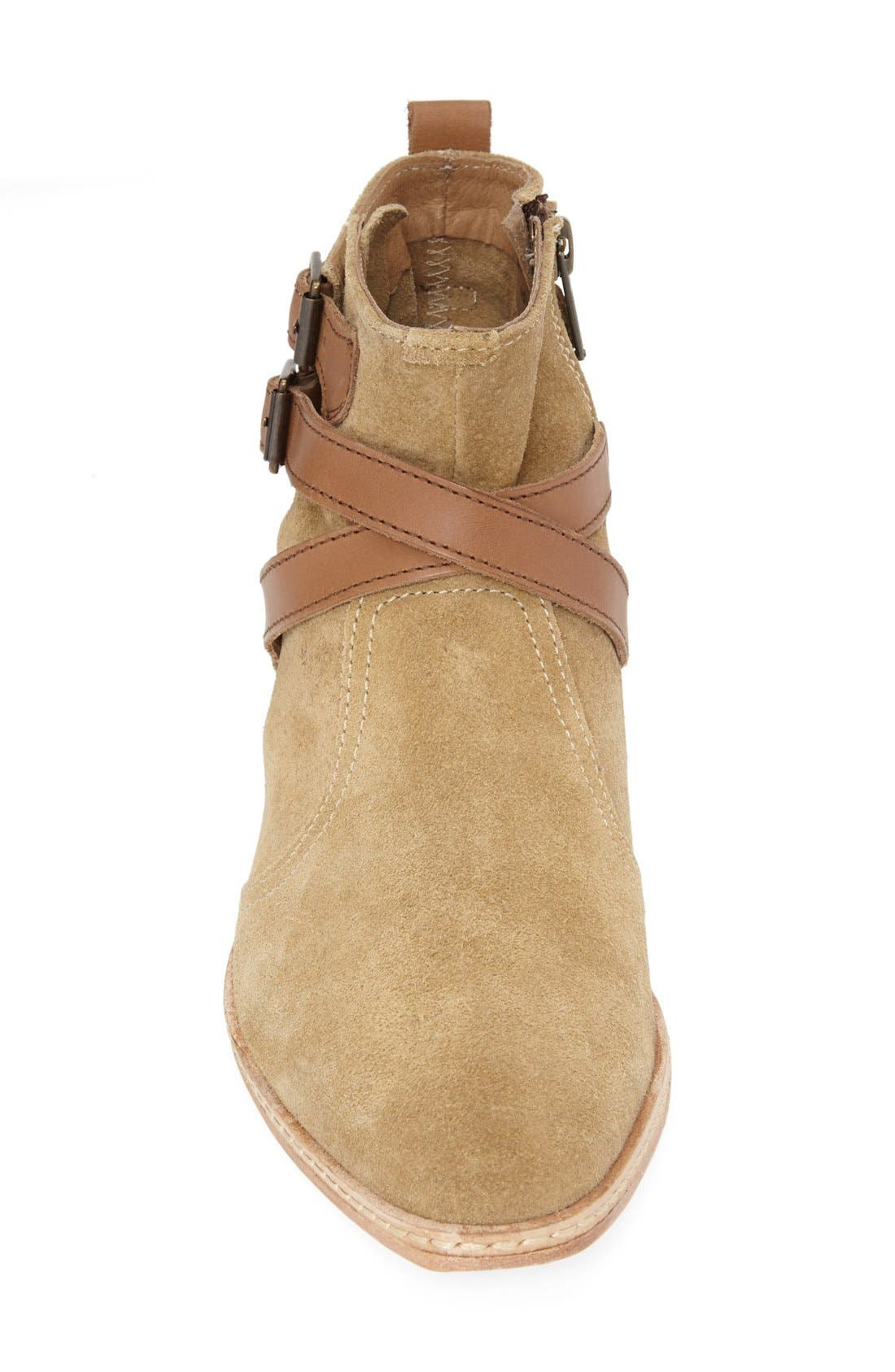 Alternate Image 3  - H by Hudson 'Tab' Suede Chelsea Bootie (Women)
