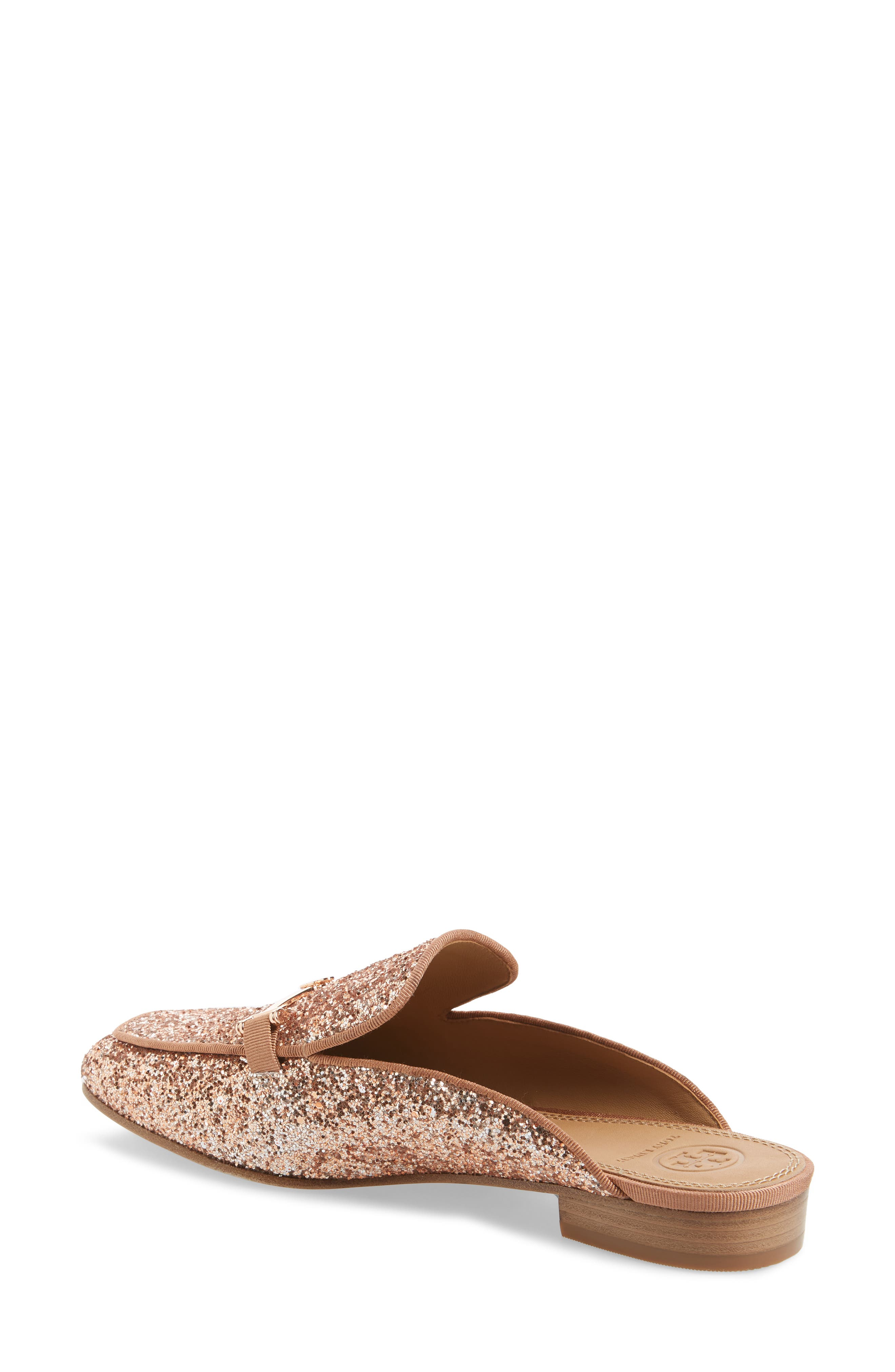 Amelia Loafer Mule,                             Alternate thumbnail 2, color,                             Rose Gold/ Rose Gold