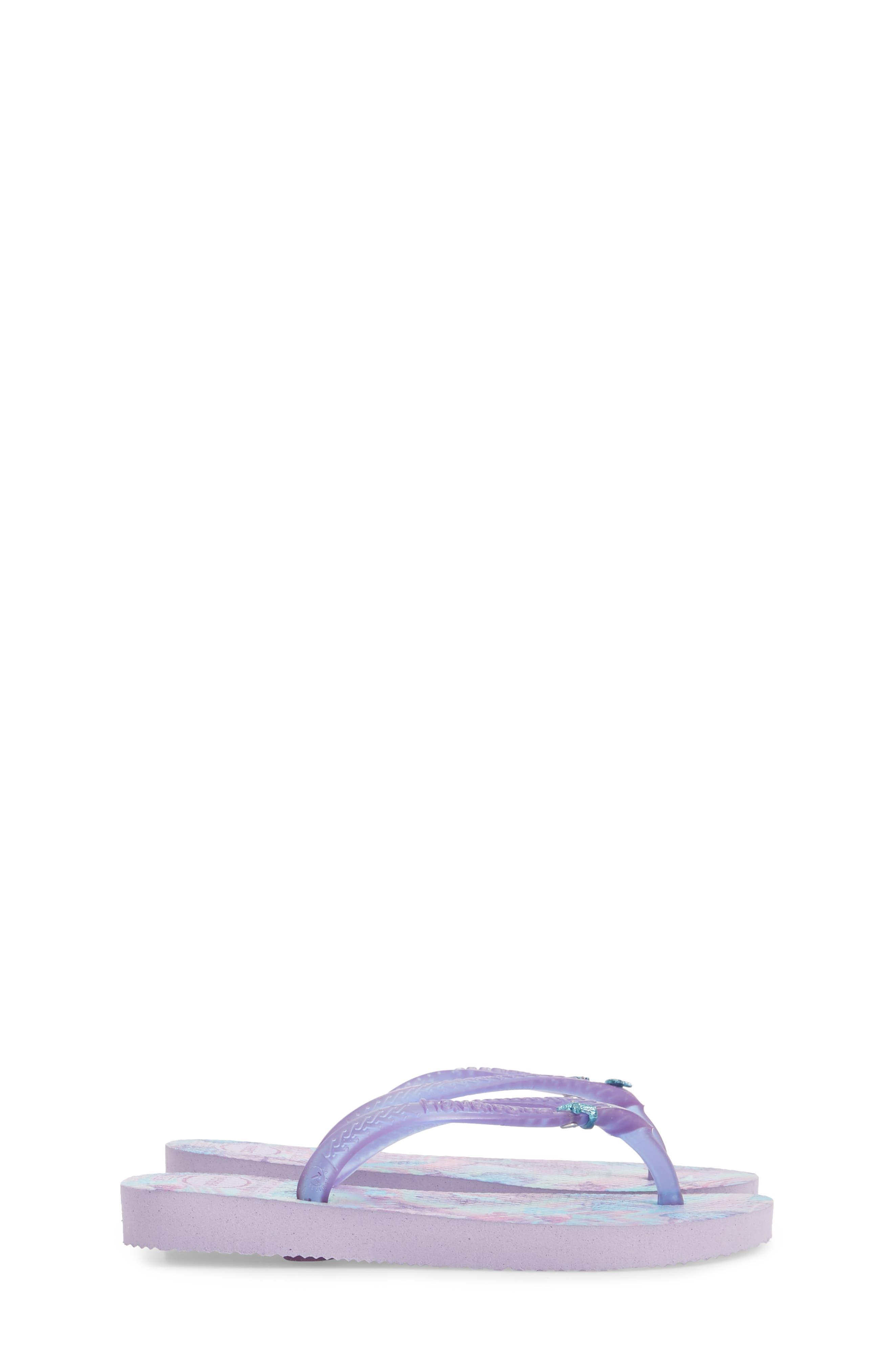 Havianas Slim Summer Flip Flop,                             Alternate thumbnail 4, color,                             Lavender