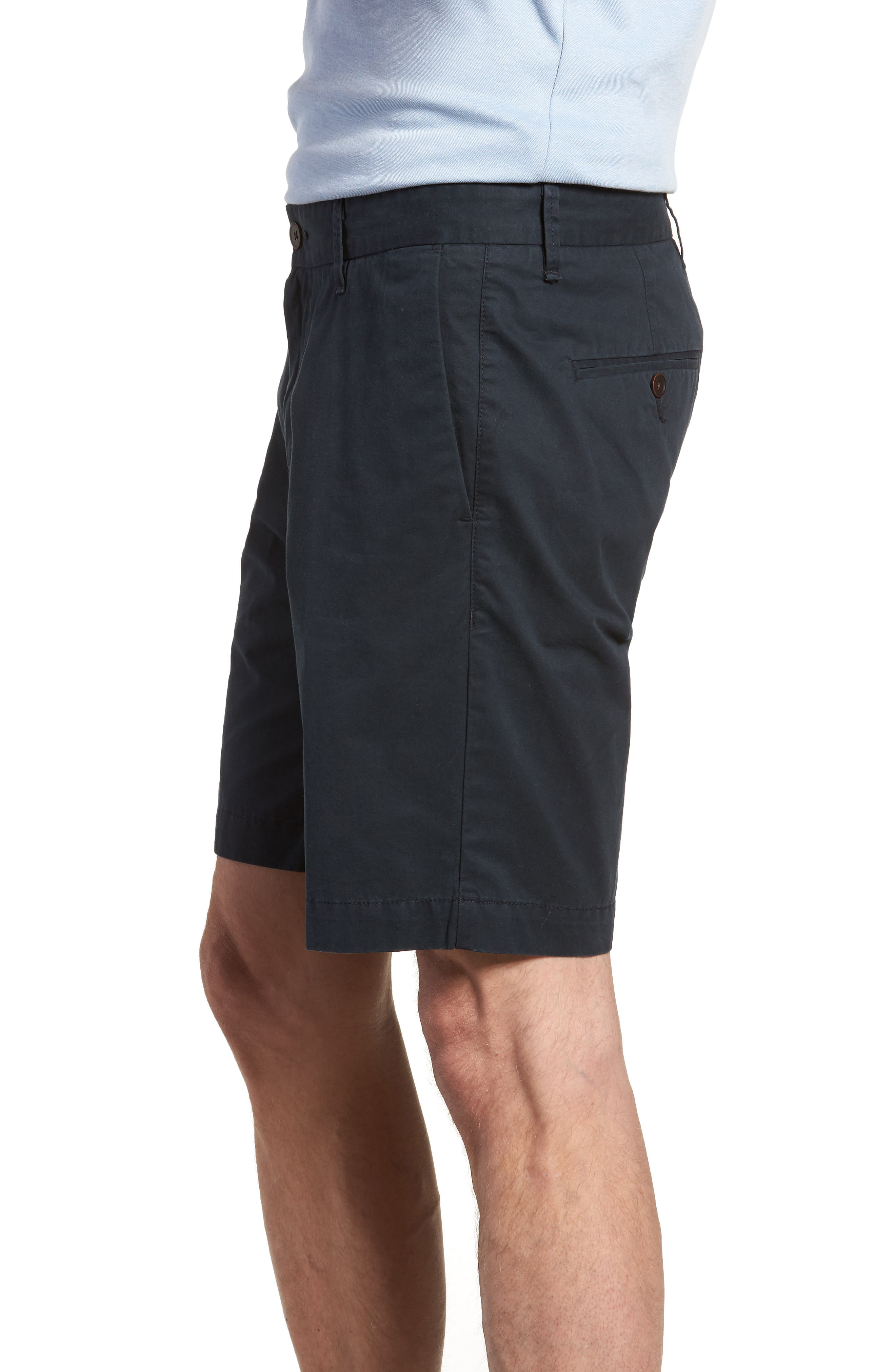 Lambton Regular Fit Shorts,                             Alternate thumbnail 3, color,                             Marine