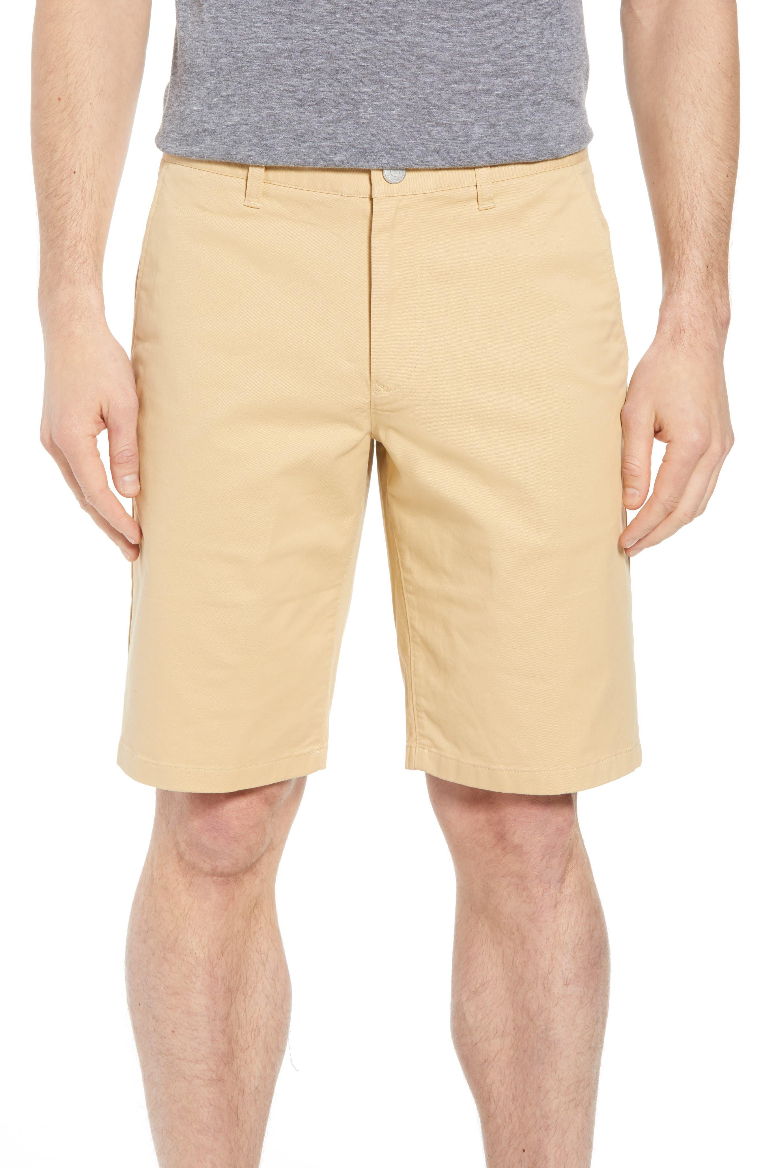 Stretch Washed Chino 11-Inch Shorts,                             Main thumbnail 1, color,                             Gold Khaki