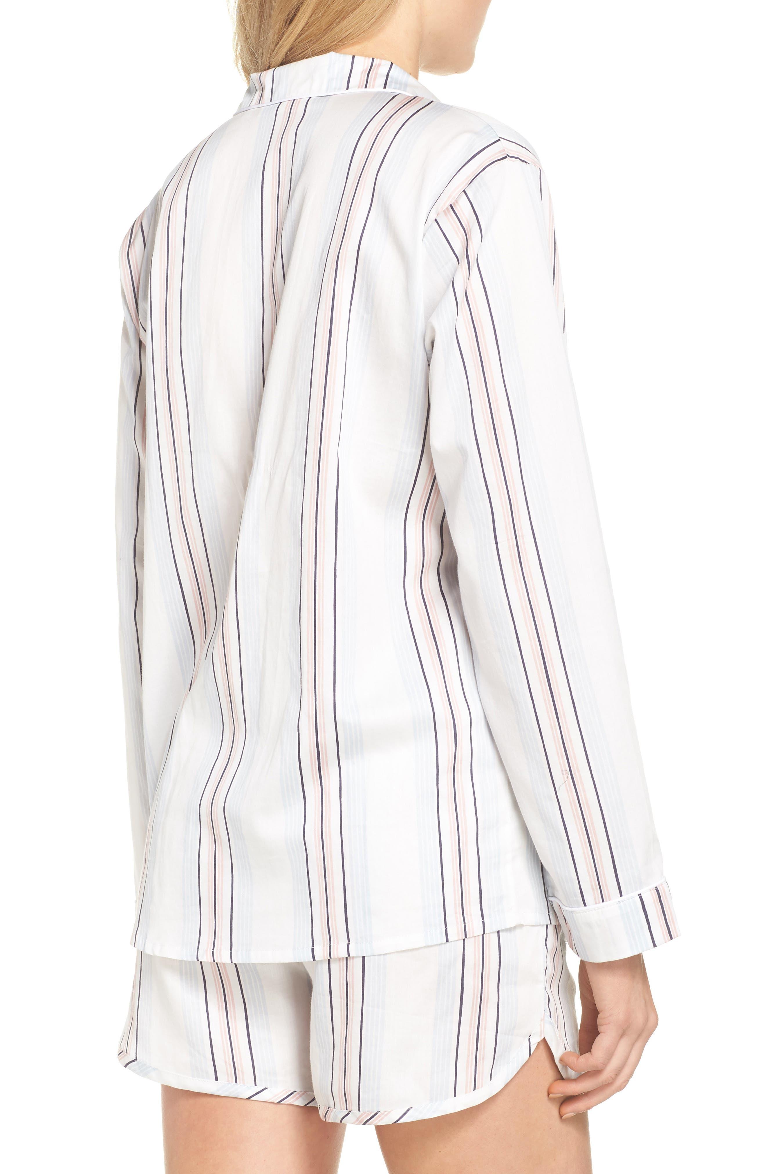 Alternate Image 2  - Chalmers Candy Stripe Short Pajamas