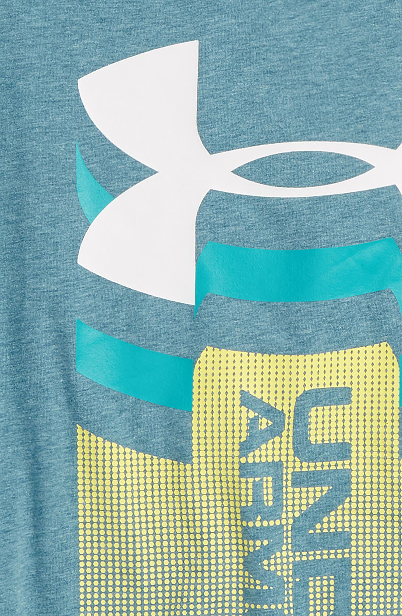 Alternate Image 2  - Under Armour Vertical Graphic T-Shirt (Big Boys)