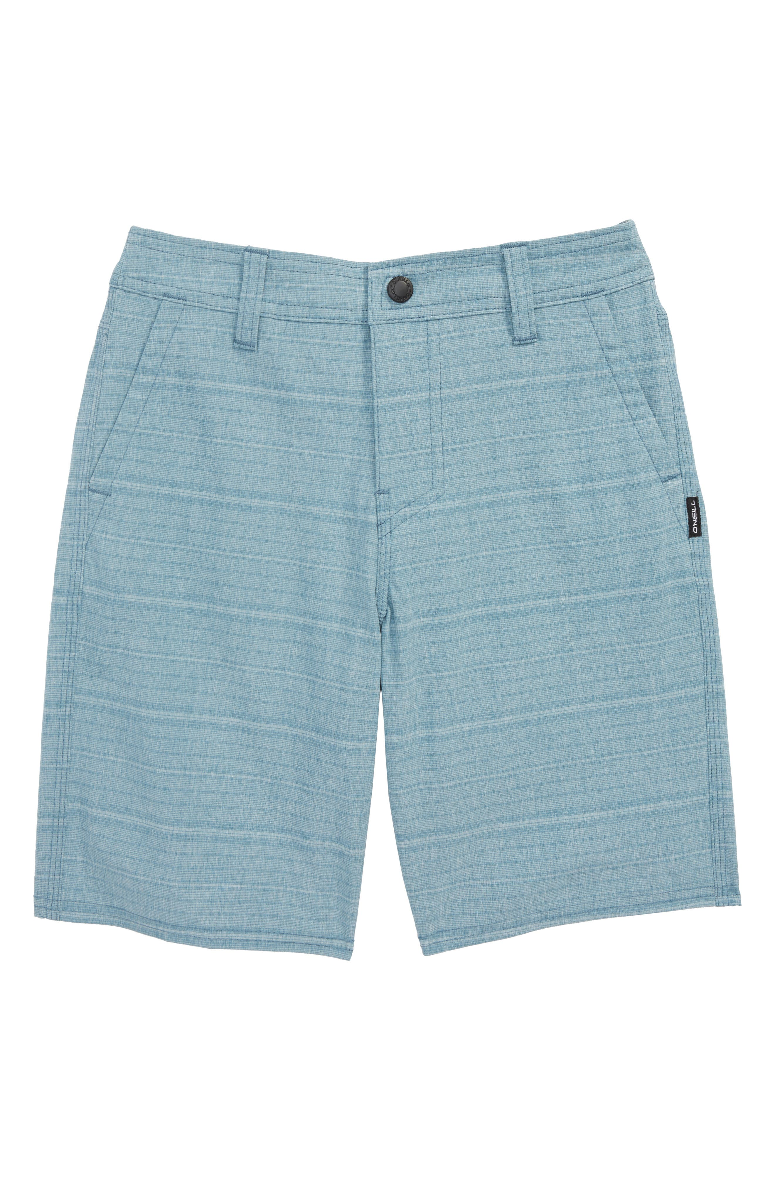 Alternate Image 1 Selected - O'Neill Locked Stripe Hybrid Shorts (Toddler Boys & Little Boys)