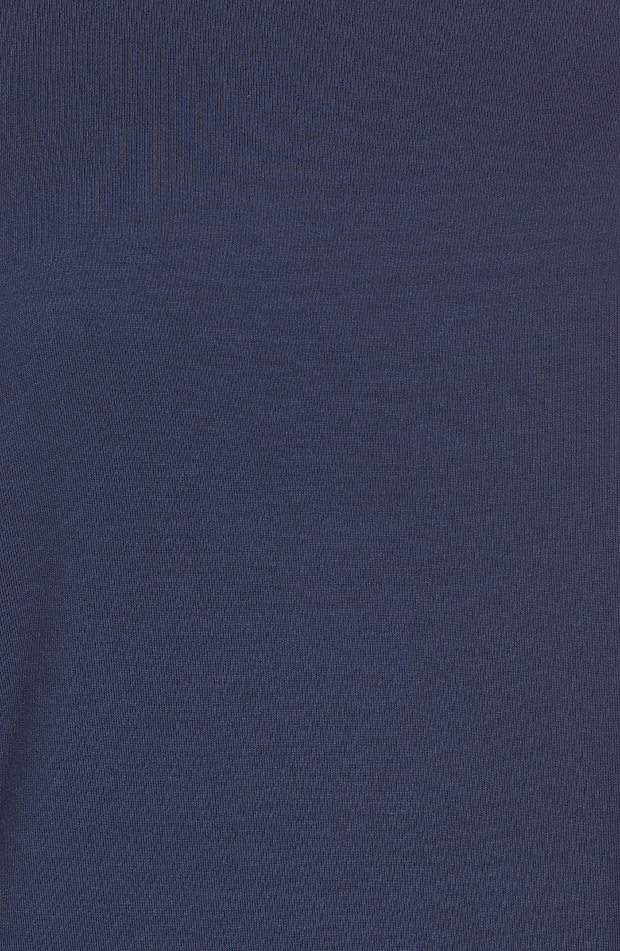 Pajama Tee,                             Alternate thumbnail 8, color,                             Navy