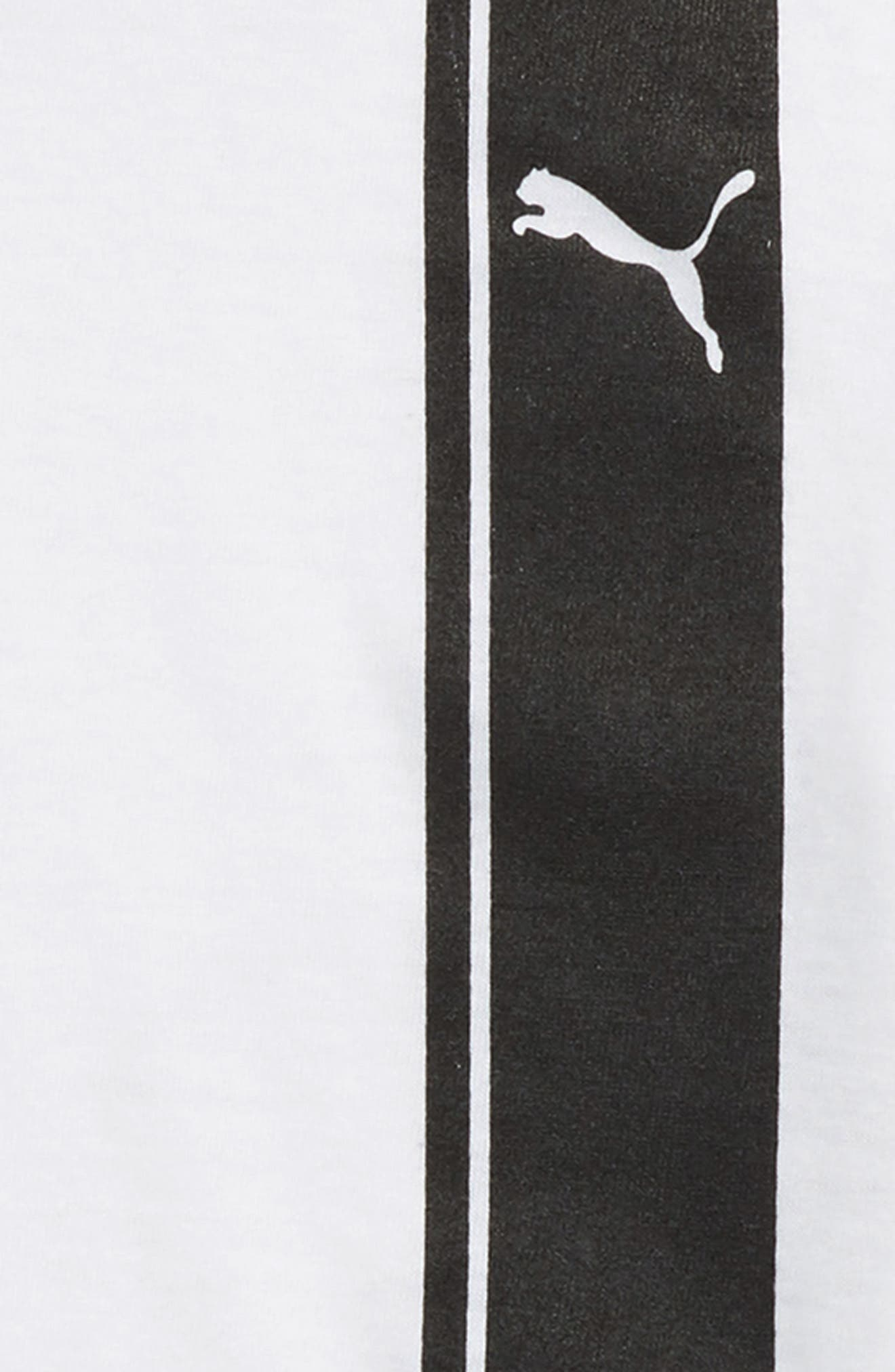 Logo T-Shirt,                             Alternate thumbnail 2, color,                             Puma White
