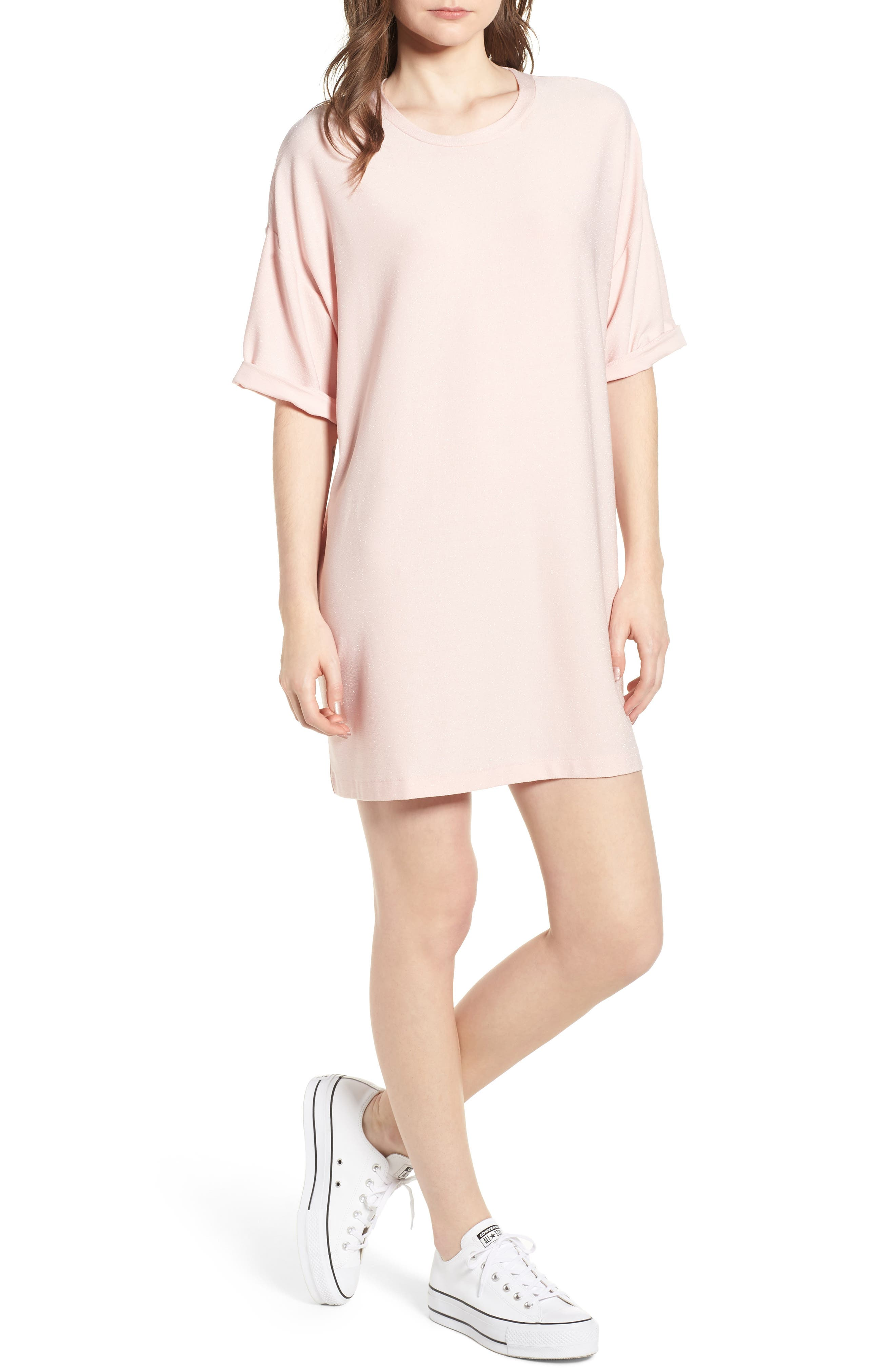 Converse x Miley Cyrus Glitter T-Shirt Dress