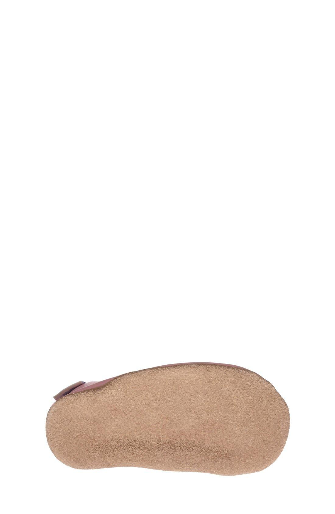 Alternate Image 4  - Robeez® 'Claire' Mary Jane Crib Shoe (Baby & Walker)