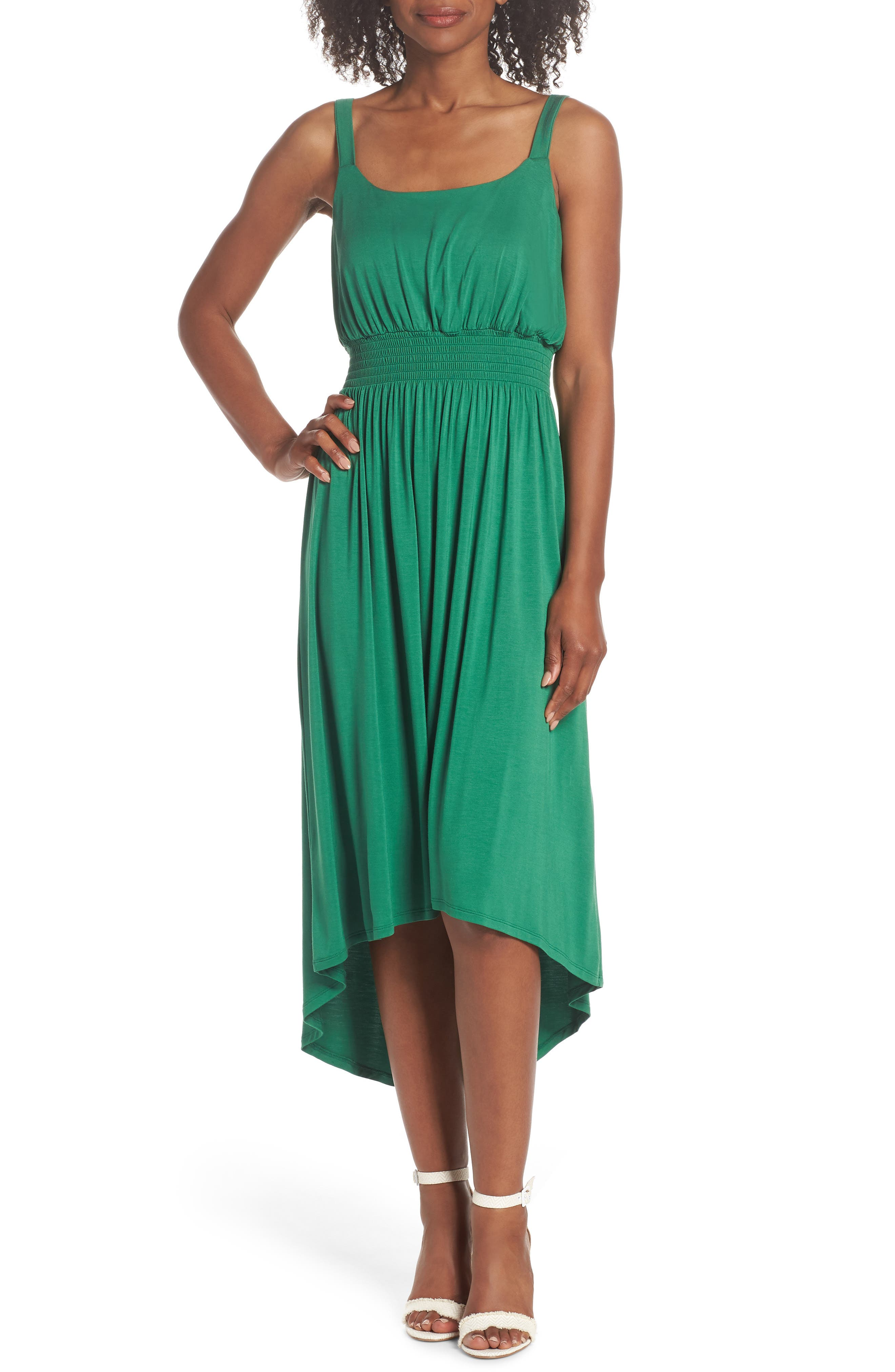 Women\'s Green High Low Dresses | Nordstrom