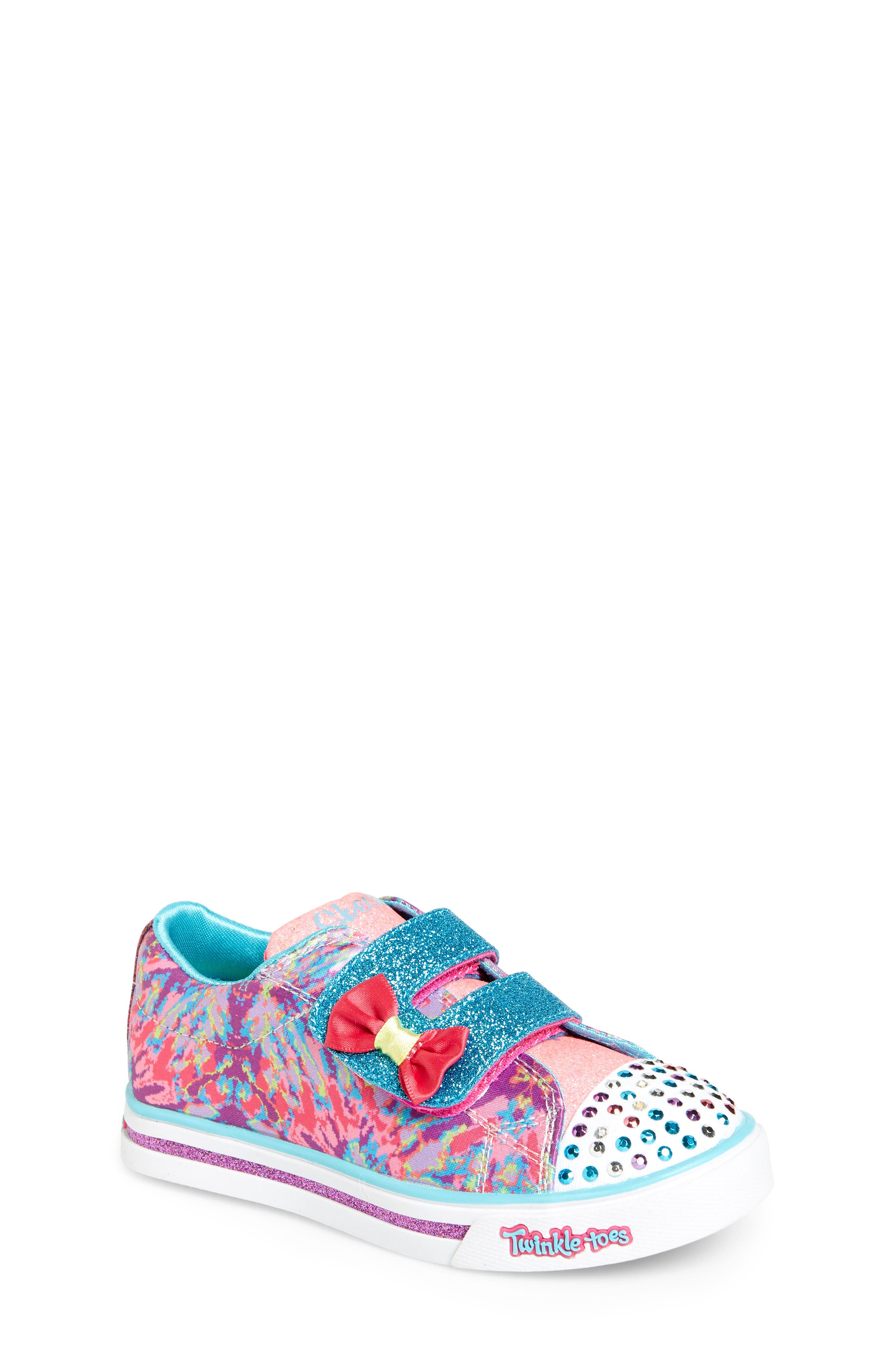 SKECHERS Sparkle Glitz Lil Dazzle Sneaker (Toddler & Walker)
