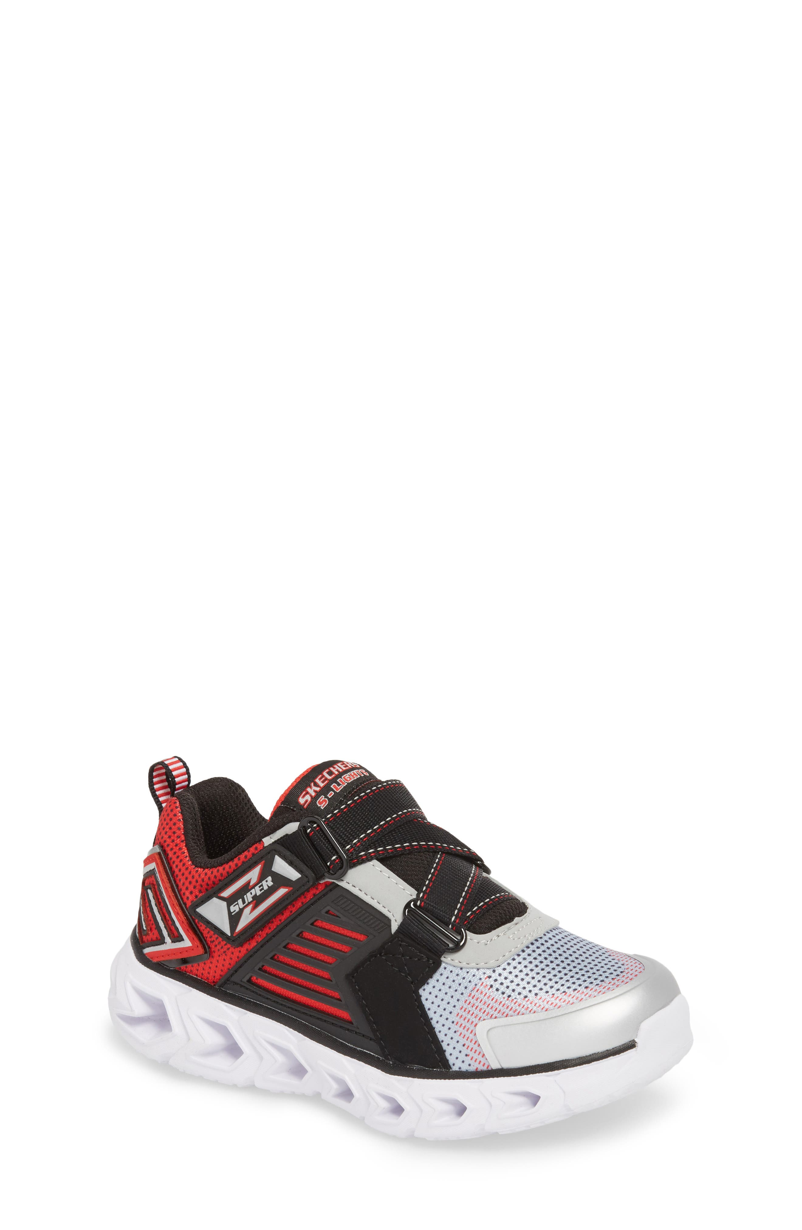Hypno-Flash 2.0 Rapid Quake Sneakers,                             Main thumbnail 1, color,                             Silver/ Black