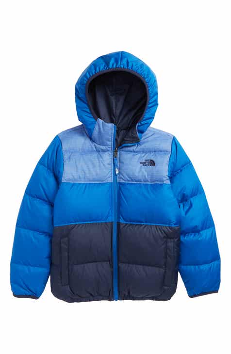 44b8cb1bdba7 The North Face  Moondoggy  Water Repellent Reversible Down Jacket (Big Boys)