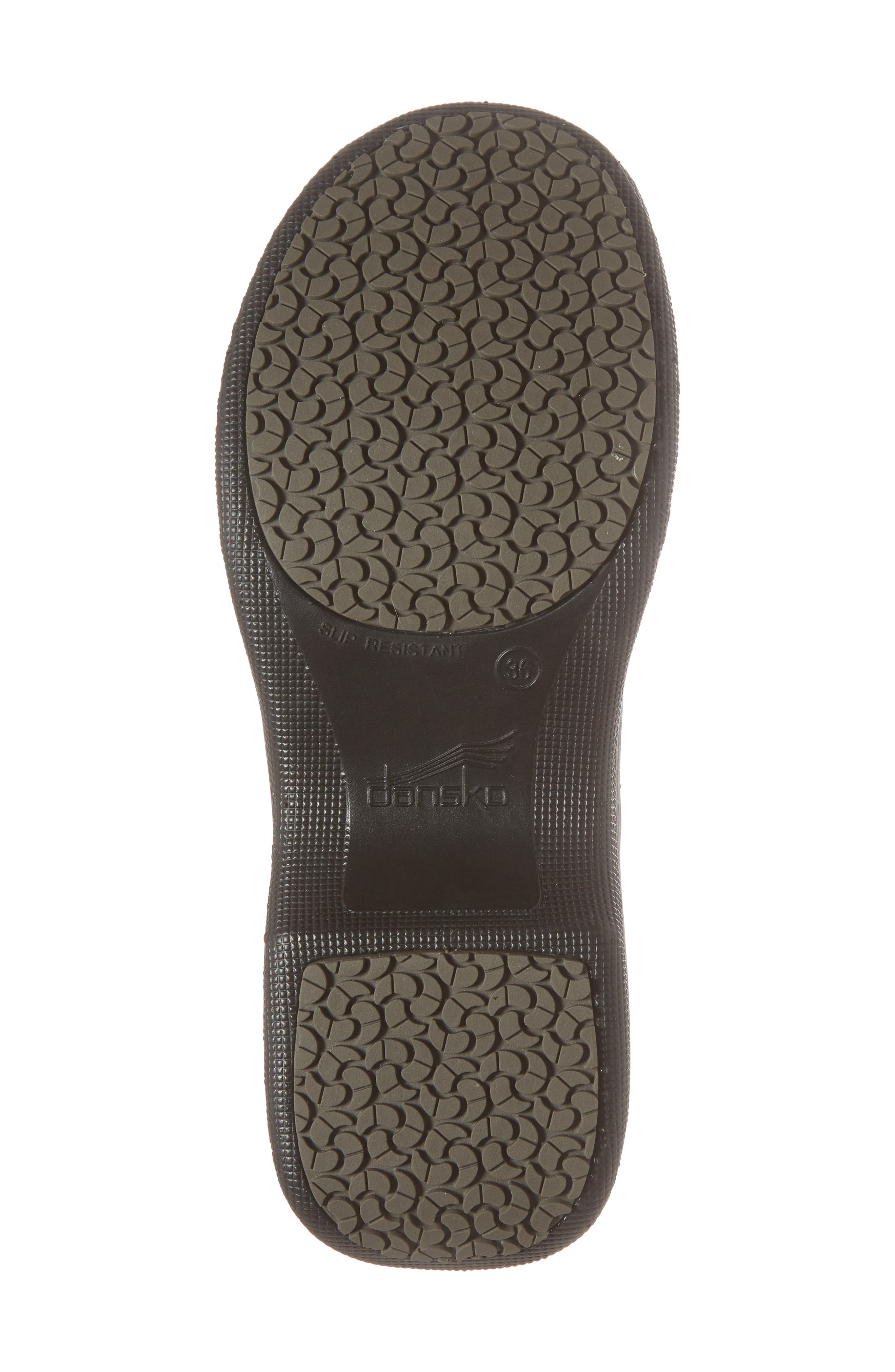 Winona Slip-On Clog,                             Alternate thumbnail 6, color,                             Monster Patent Leather