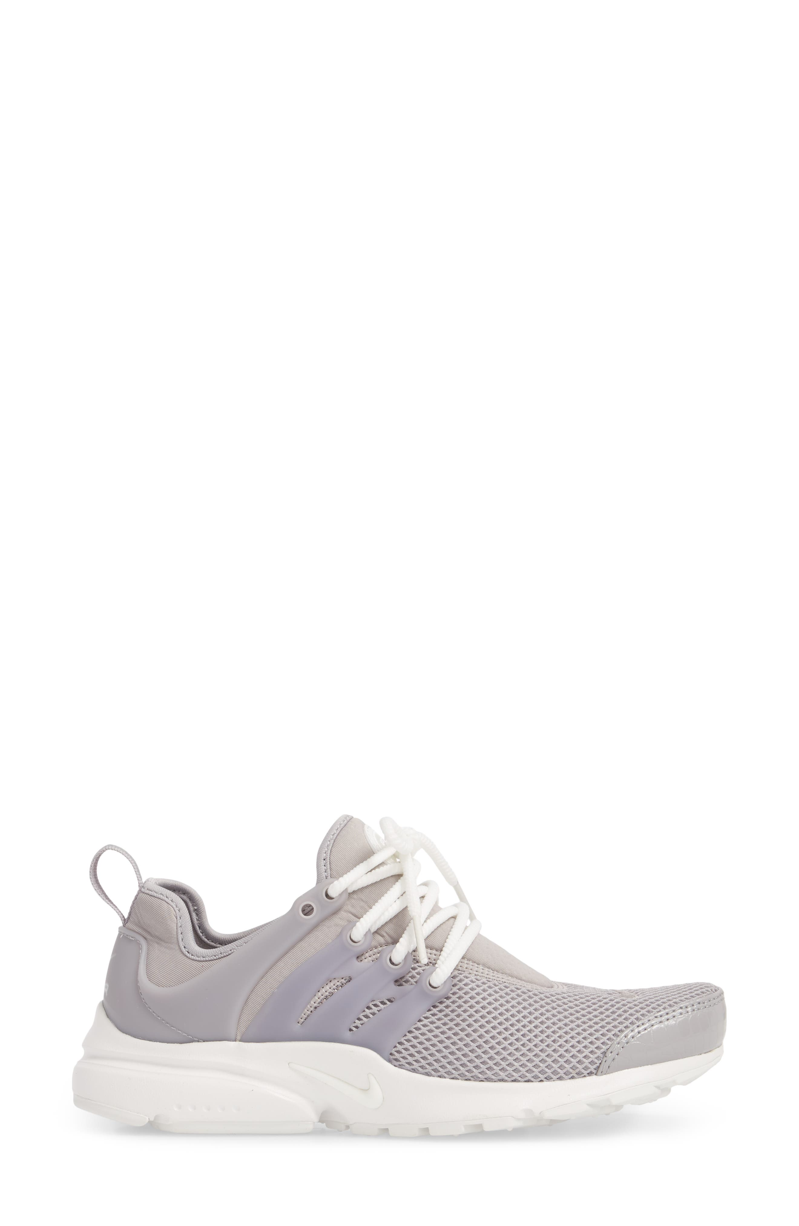 Air Presto SE Sneaker,                             Alternate thumbnail 3, color,                             Atmosphere Grey