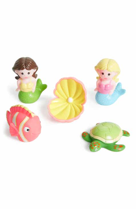 Elegant Baby Mermaid Party Squirtie Bath Set