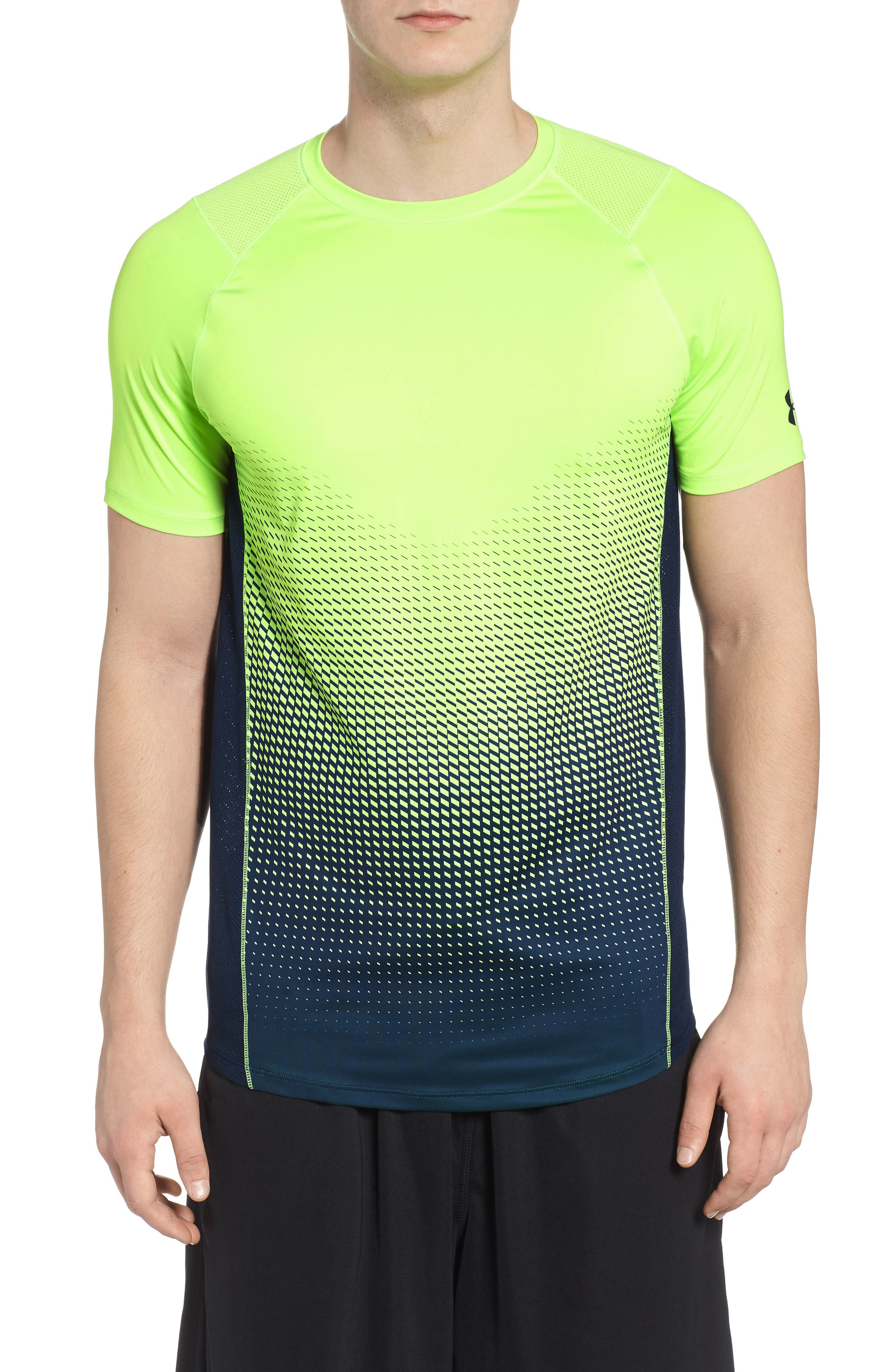 MK1 Dash Crewneck T-Shirt,                         Main,                         color, Lime / Academy / Graphite