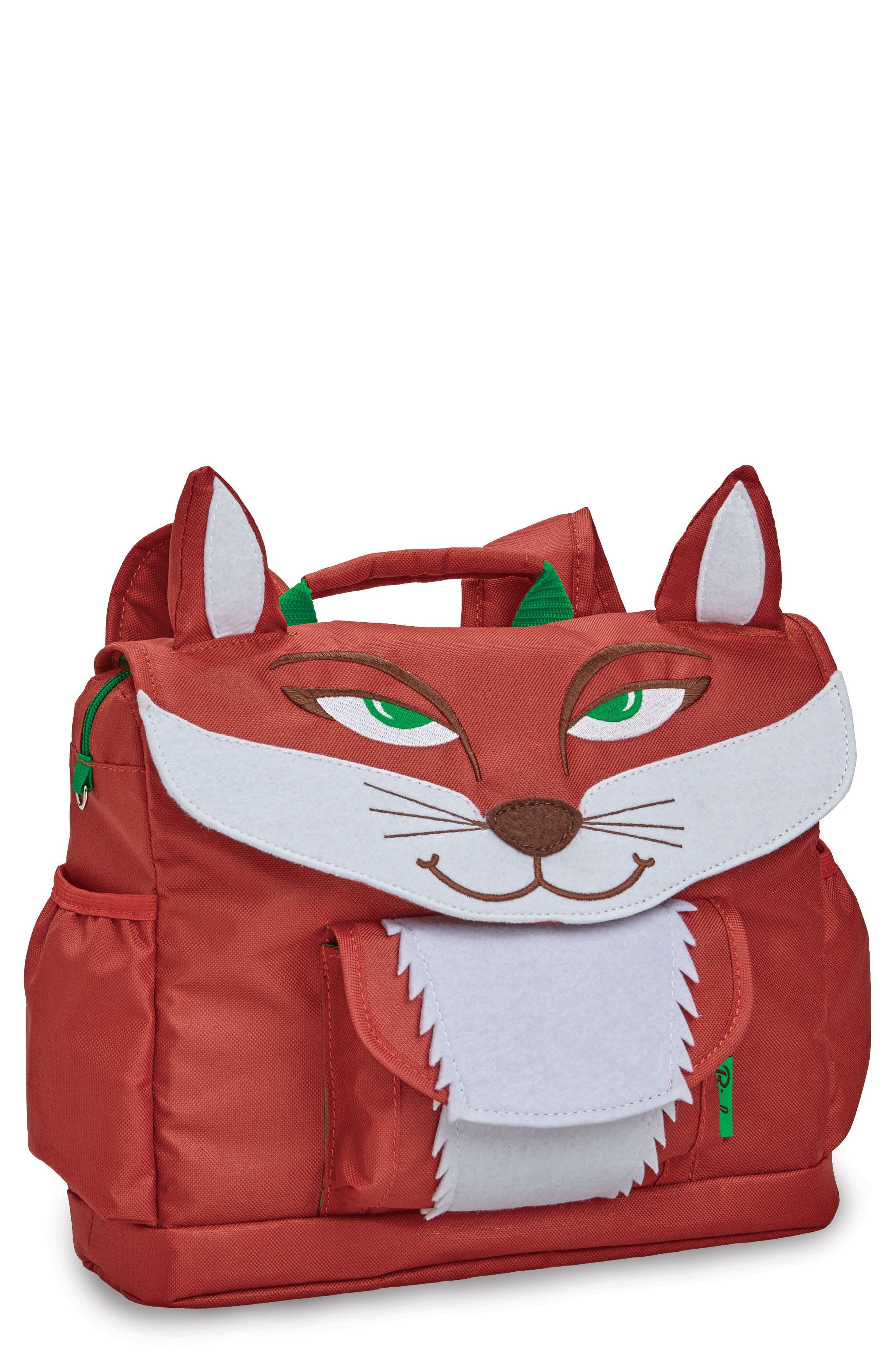 Bixbee Animal Pack - Fox Water Resistant Backpack (Kids)