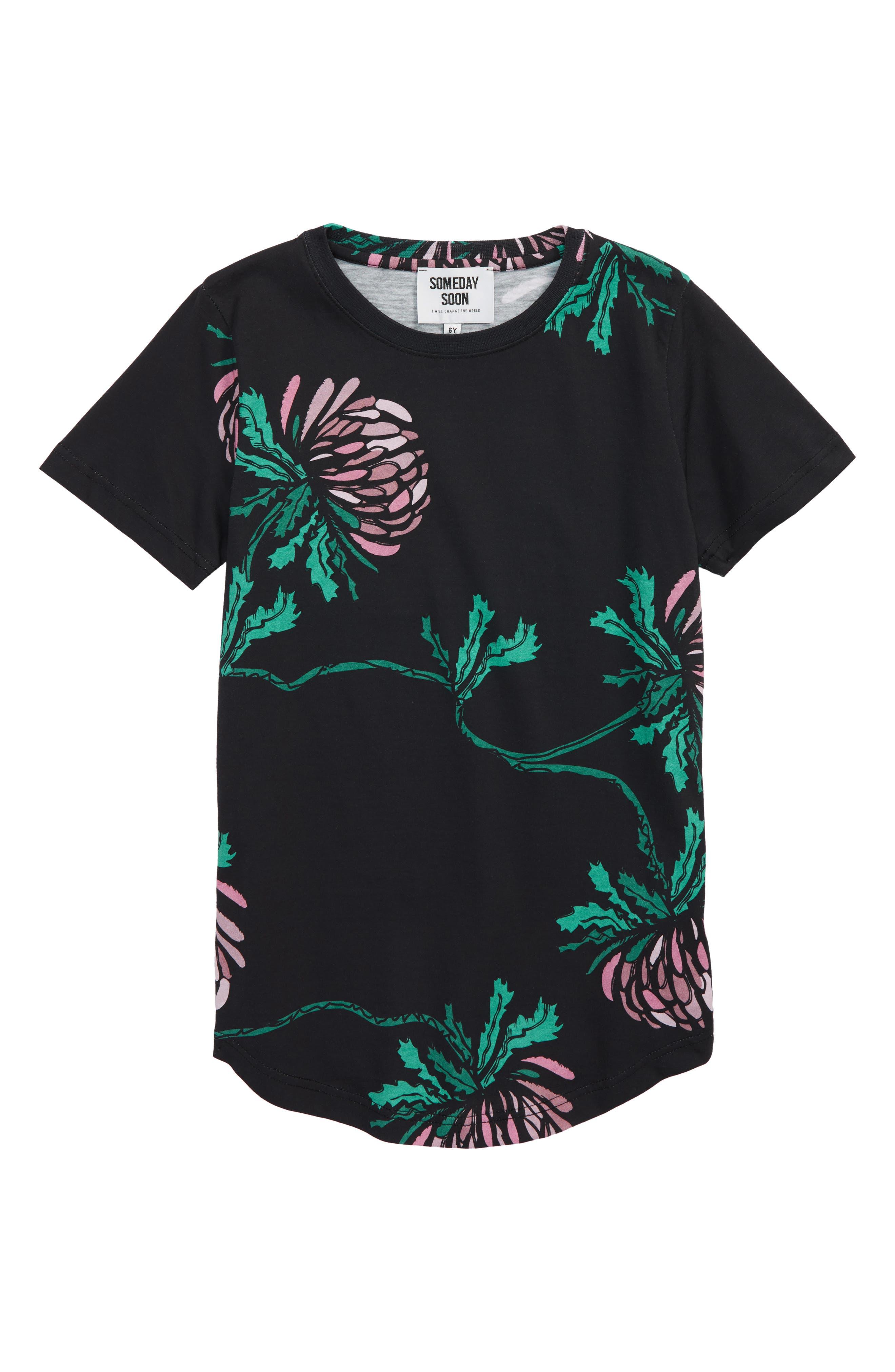 Louis T-Shirt,                         Main,                         color, Black