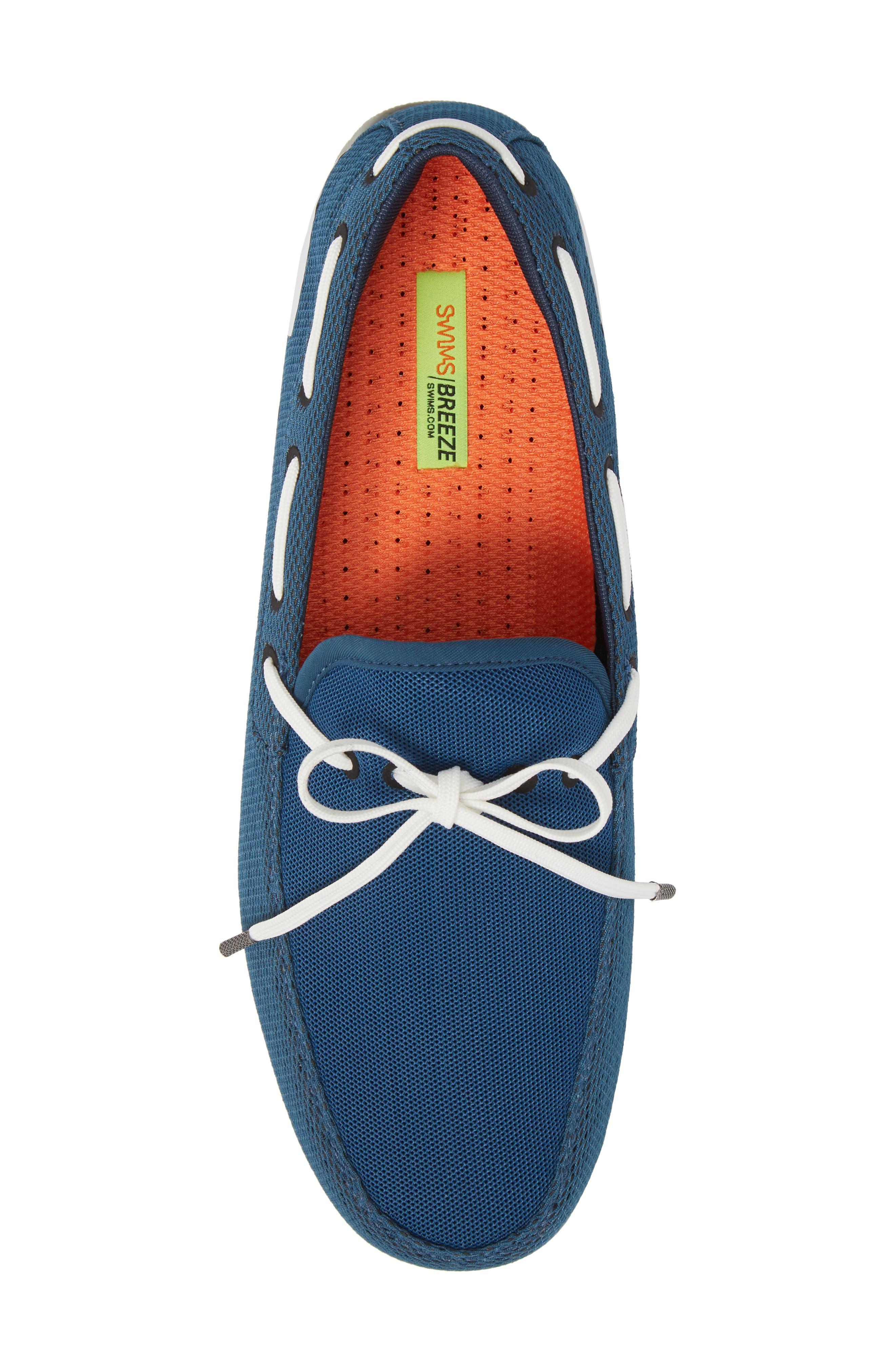 Breeze Loafer,                             Alternate thumbnail 5, color,                             Blue/ White