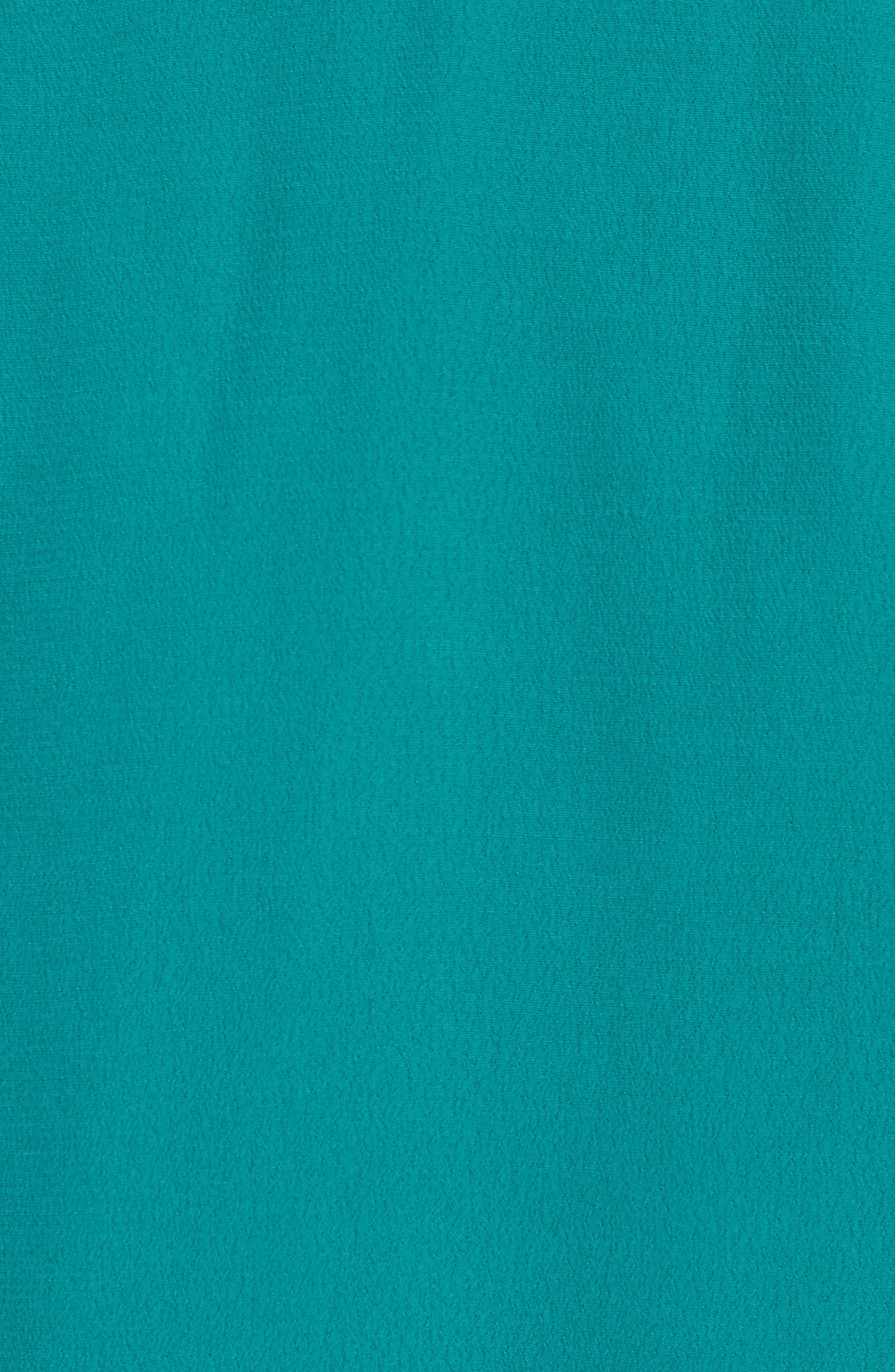 Verdera Plunging Minidress,                             Alternate thumbnail 7, color,                             Green