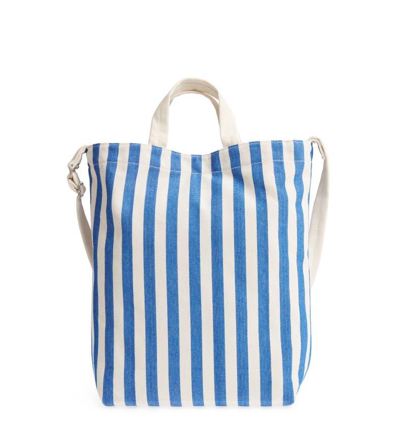 Baggu 'DUCK BAG' CANVAS TOTE - BLUE