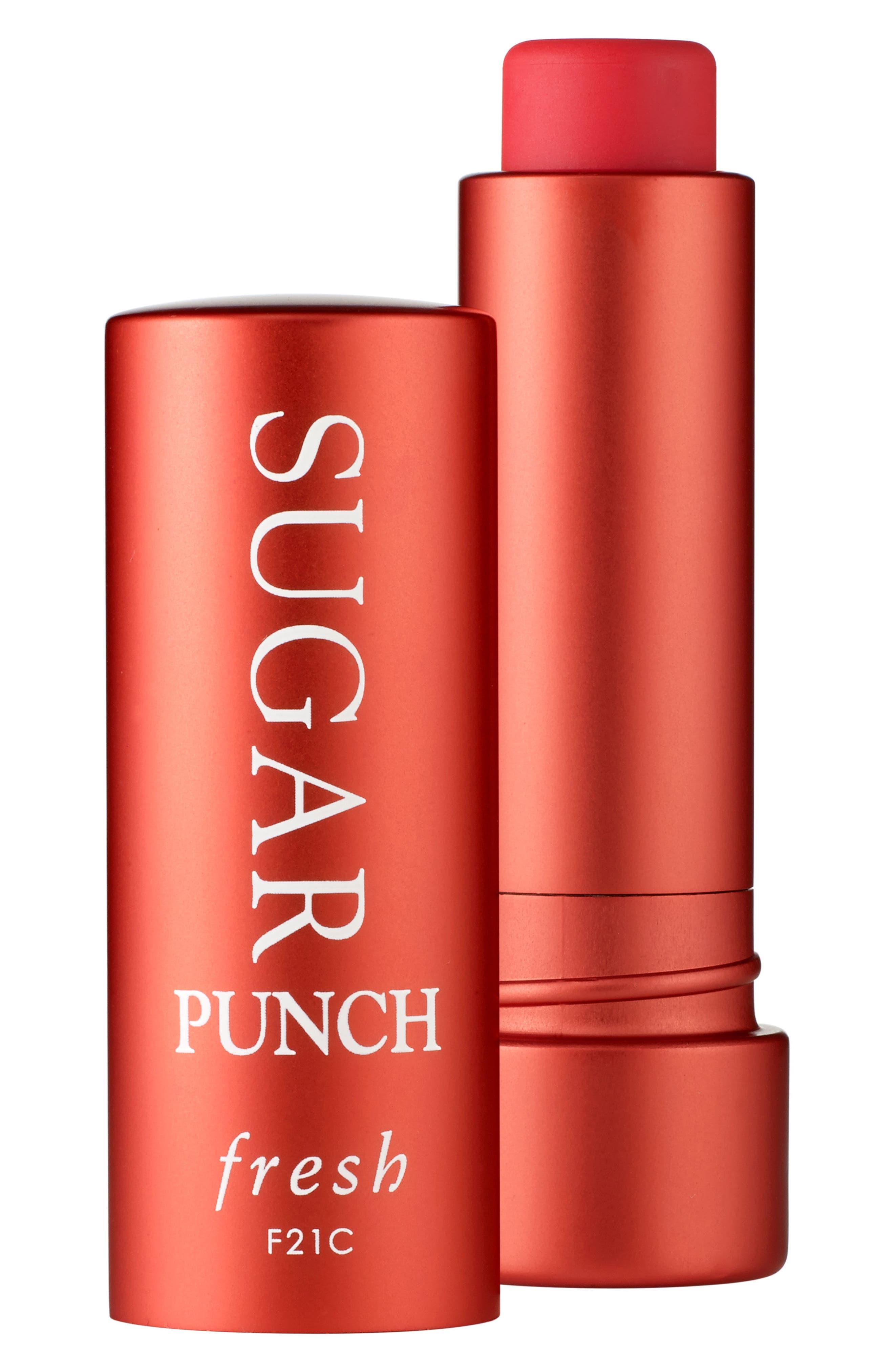 Sugar Tinted Lip Treatment SPF 15,                             Main thumbnail 1, color,                             Punch