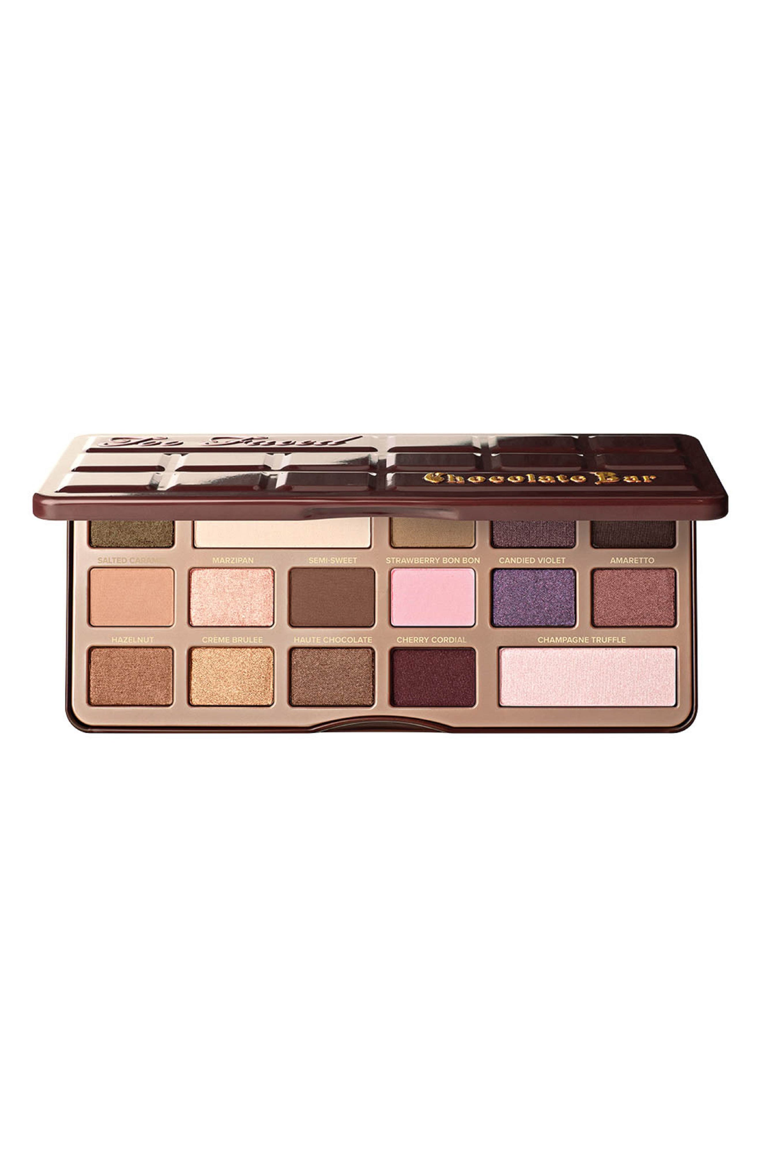 Chocolate Bar Eyeshadow Palette,                         Main,                         color, No Color