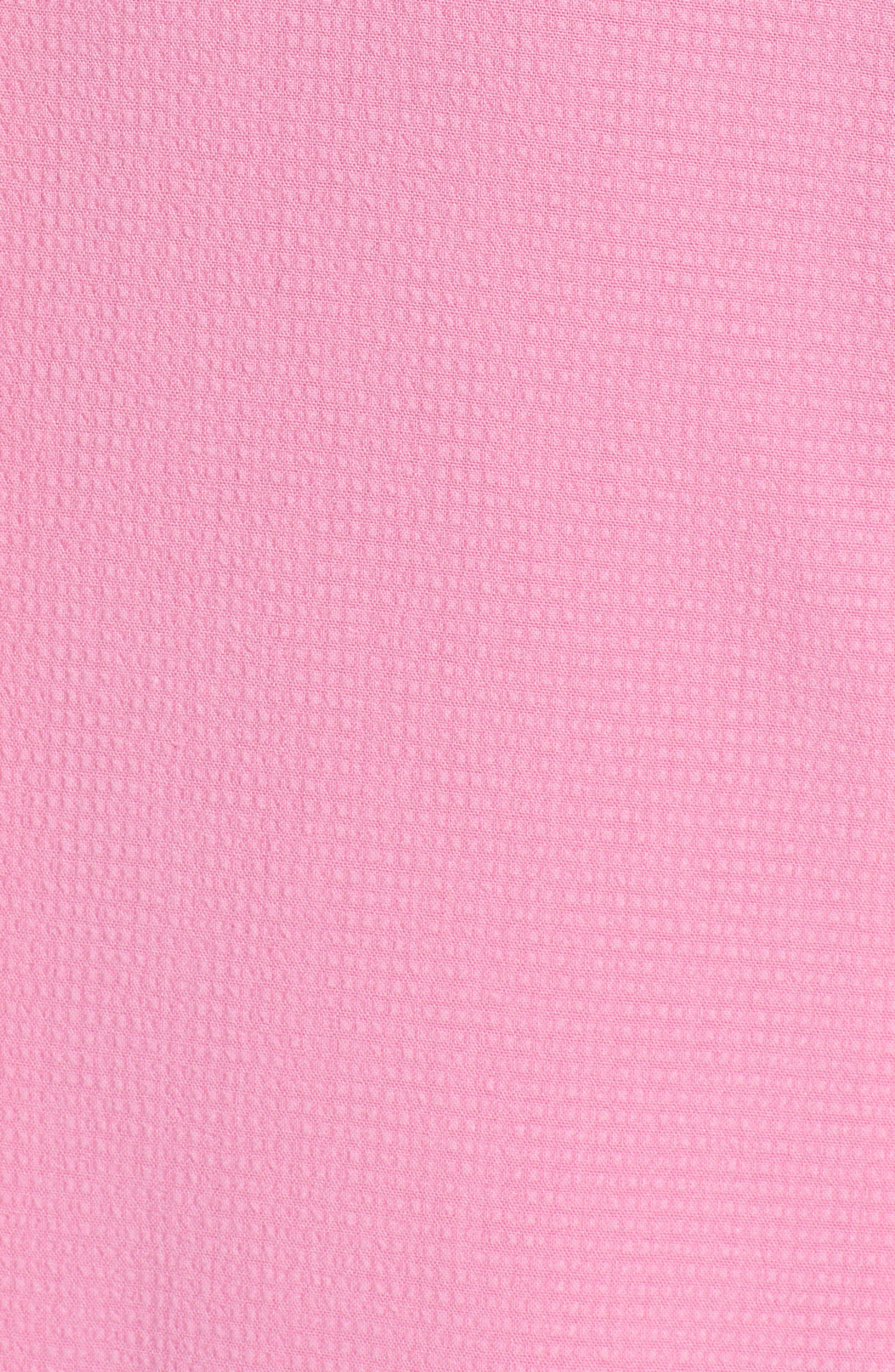 One Button Blazer,                             Alternate thumbnail 6, color,                             Pink Trillium