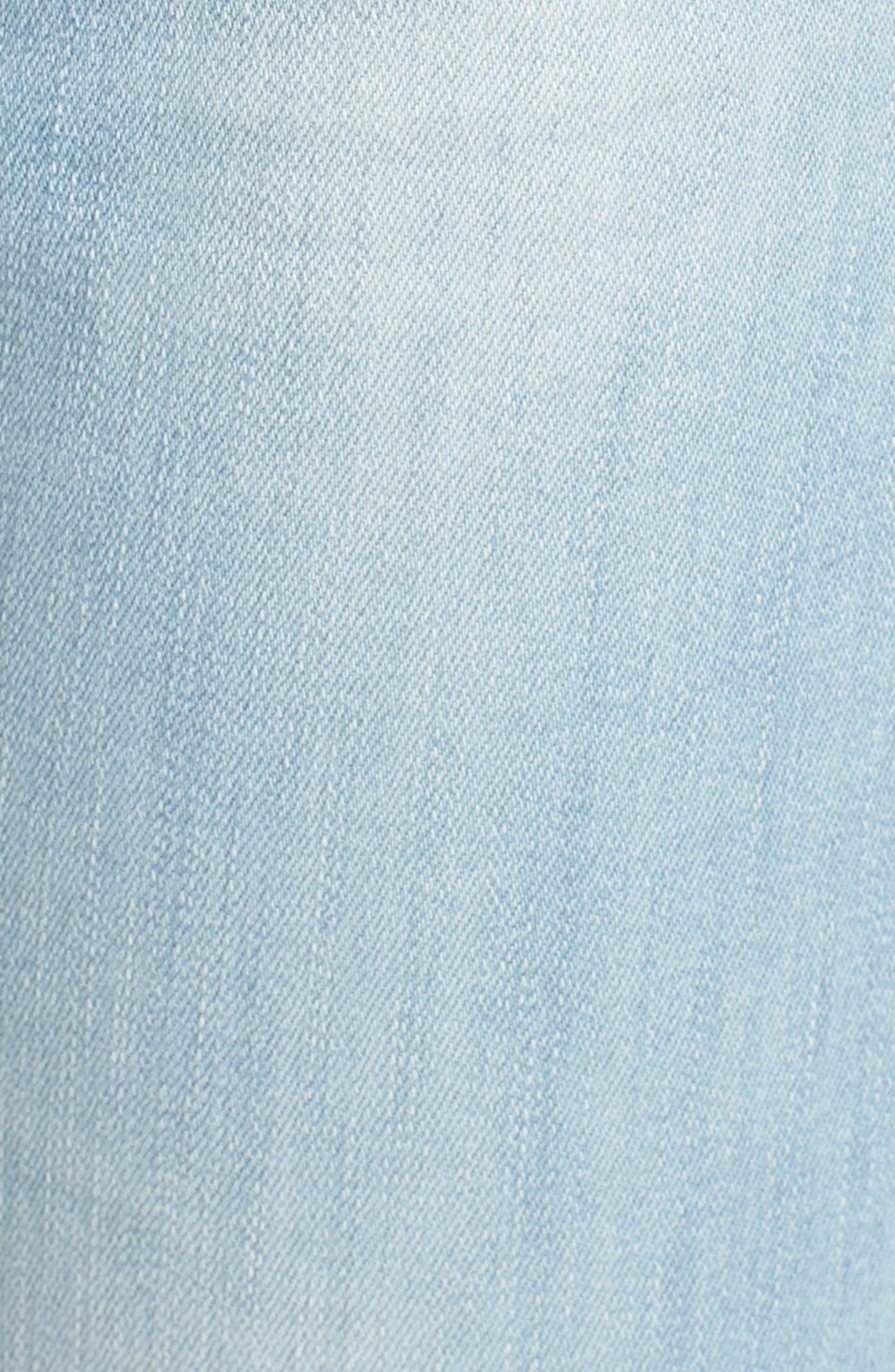Farrah High Waist Ankle Skinny Jeans,                             Alternate thumbnail 6, color,                             20 Years Sutro