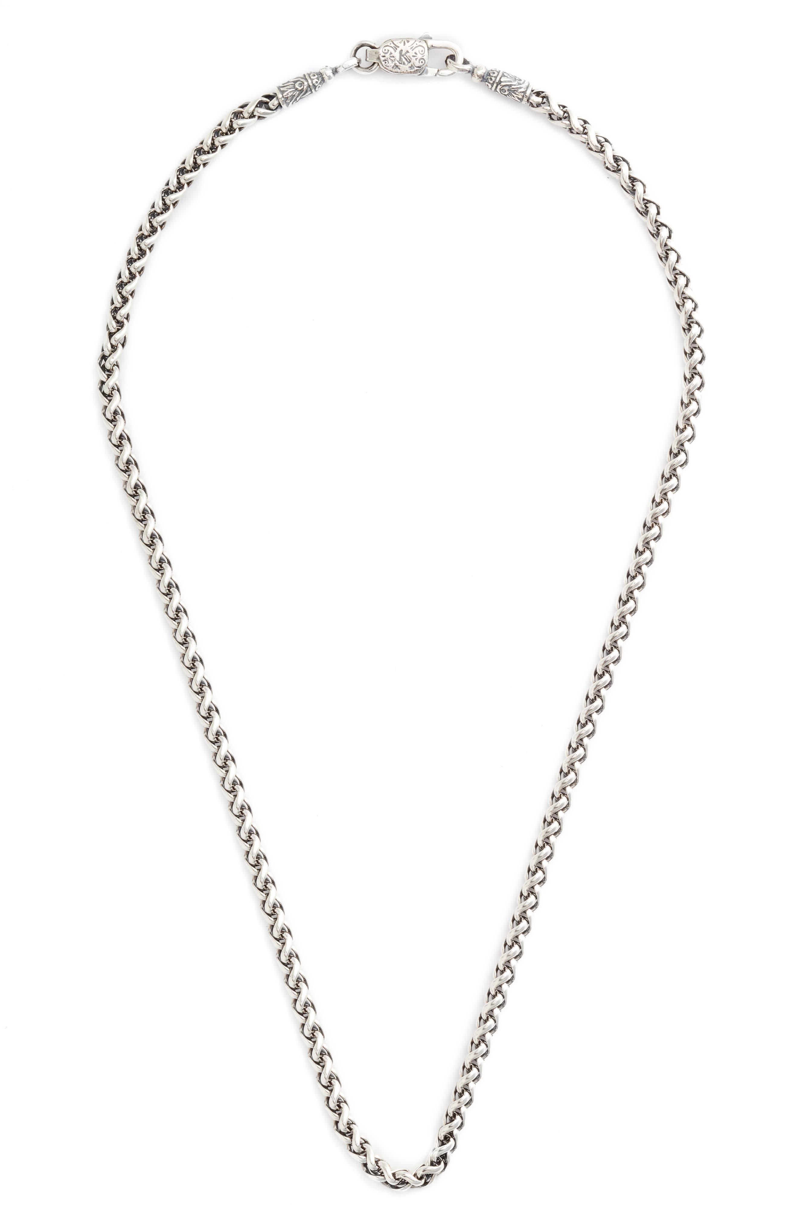 Konstantino Sterling Silver Chain