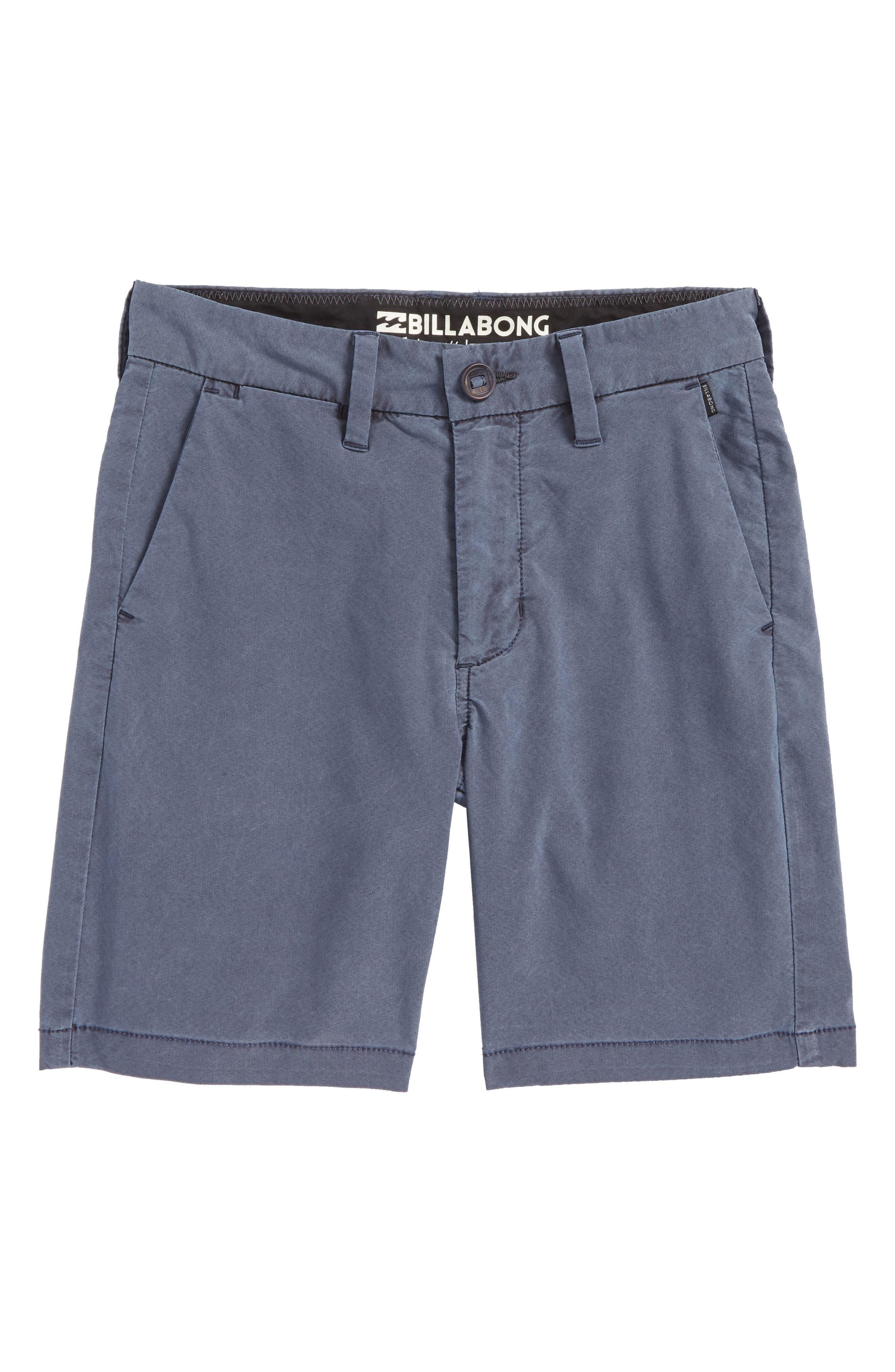 New Order X Overdye Hybrid Shorts,                         Main,                         color, Indigo