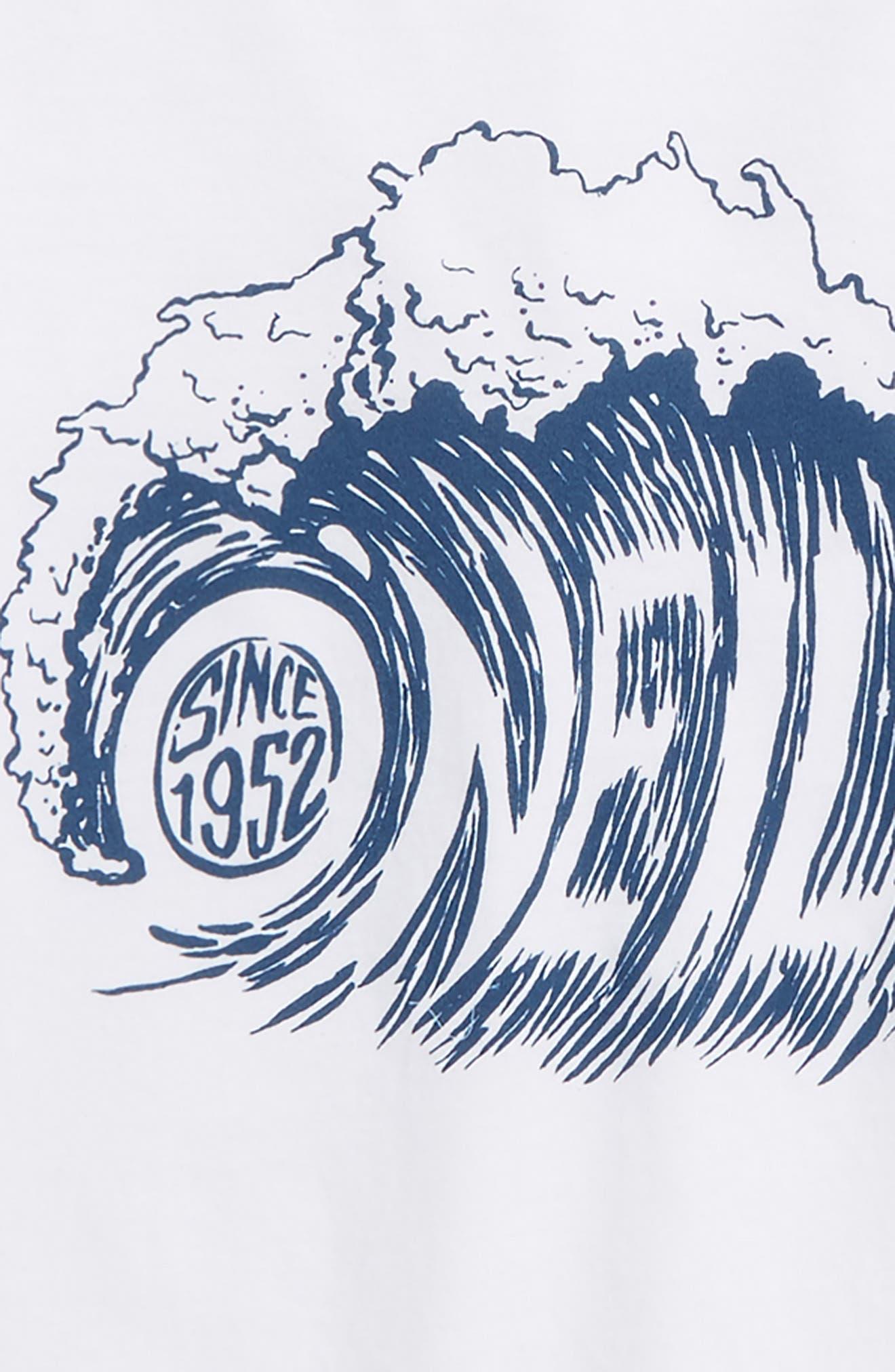 Sandspit Graphic T-Shirt,                             Alternate thumbnail 2, color,                             White