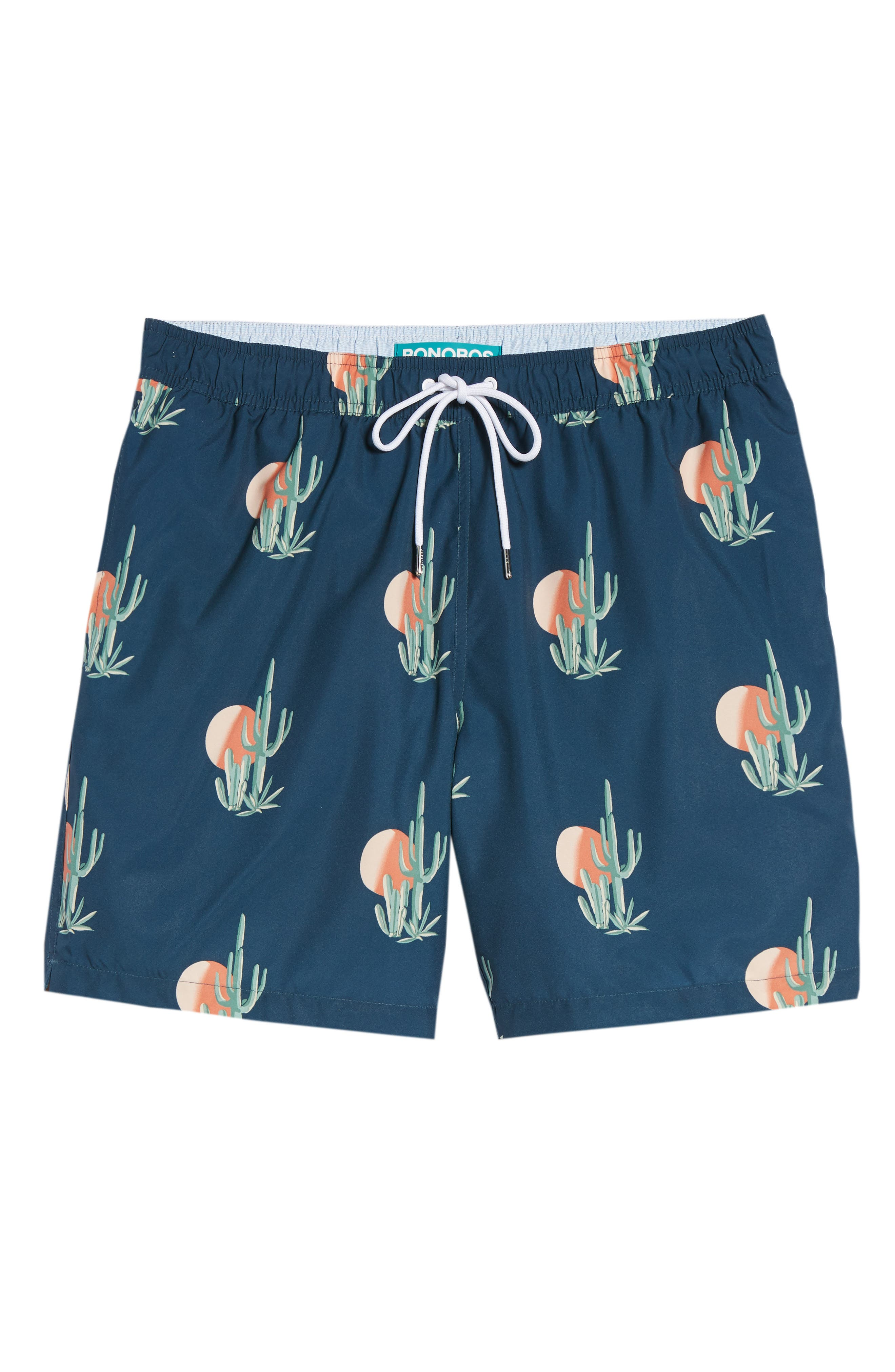 Banzai 7-Inch Swim Trunks,                             Alternate thumbnail 6, color,                             Sunset Cacti