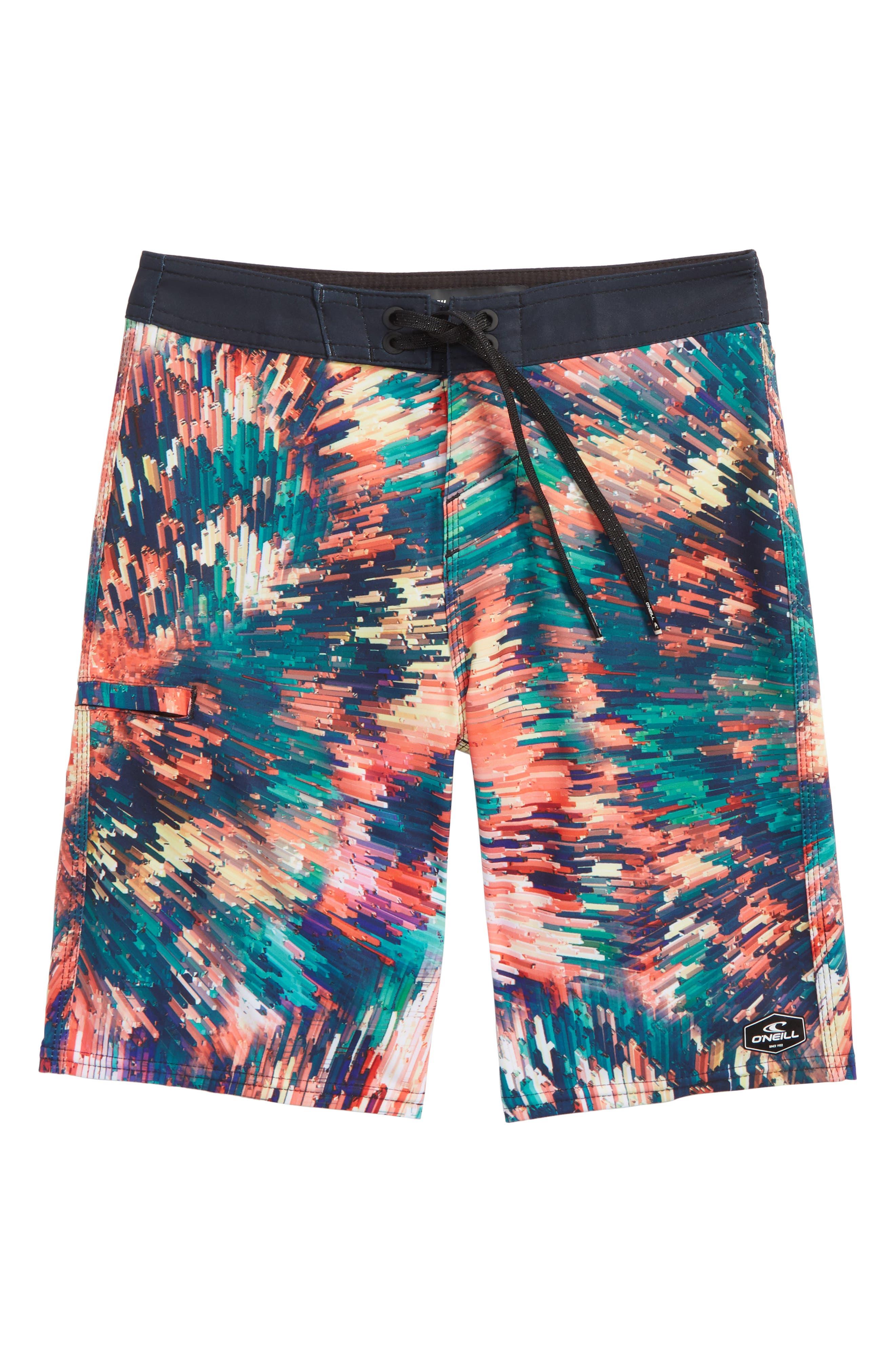 Hyperfreak Crystalize Board Shorts,                             Main thumbnail 1, color,                             Multi