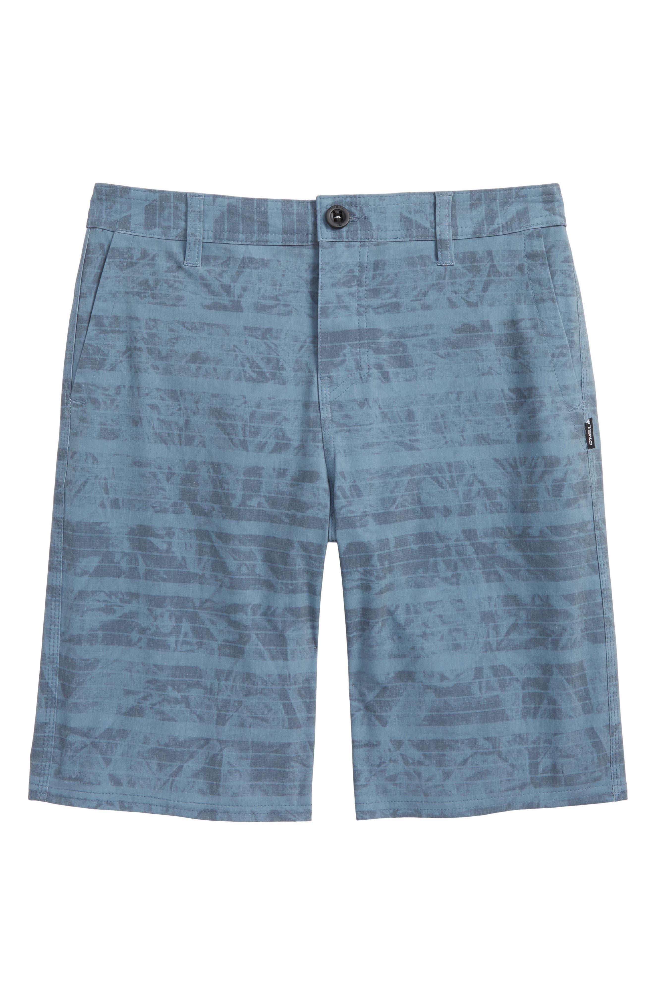 Mischief Hybrid Shorts,                             Main thumbnail 1, color,                             Slate