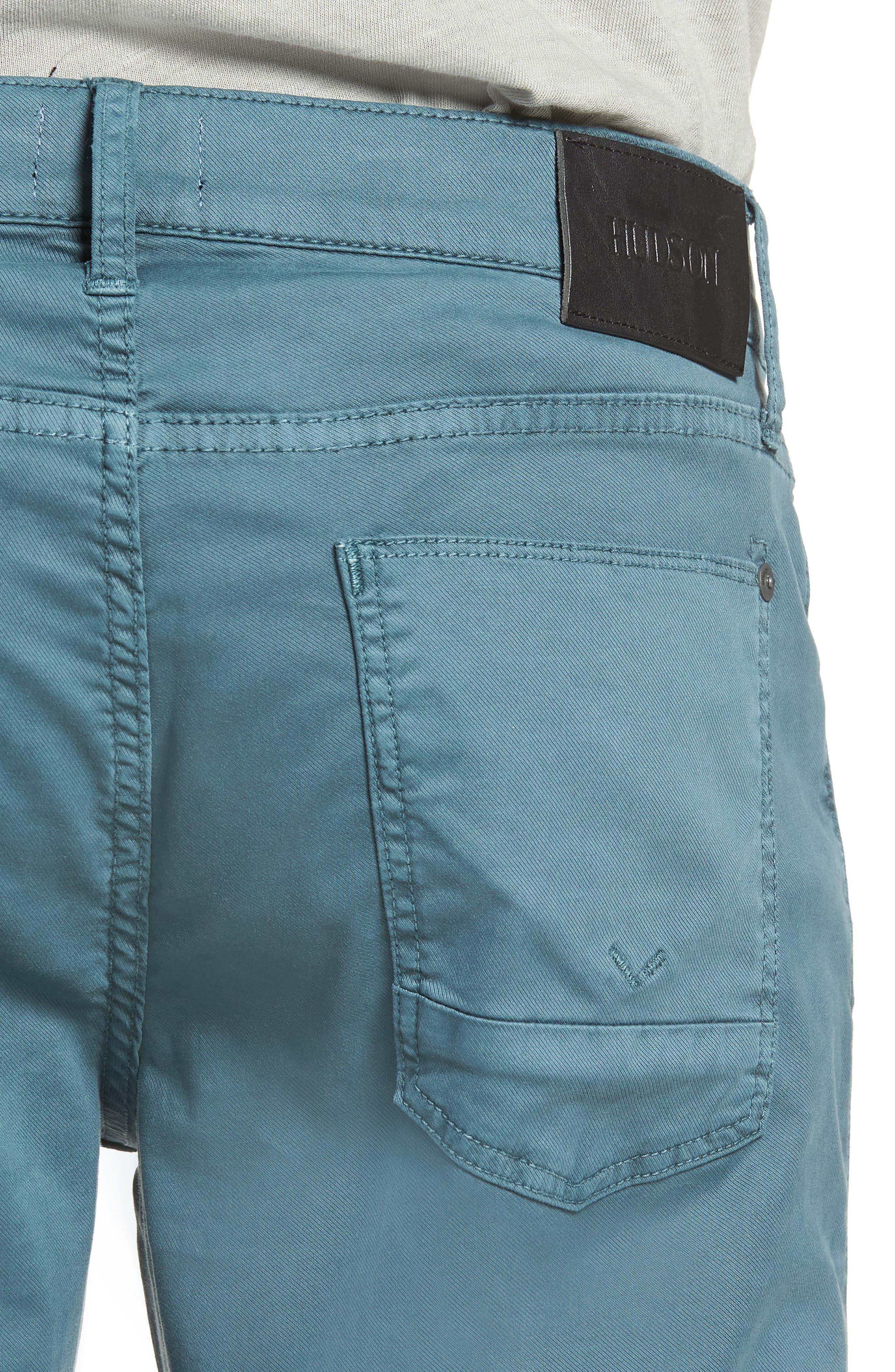 Blake Slim Fit Jeans,                             Alternate thumbnail 4, color,                             Ocean