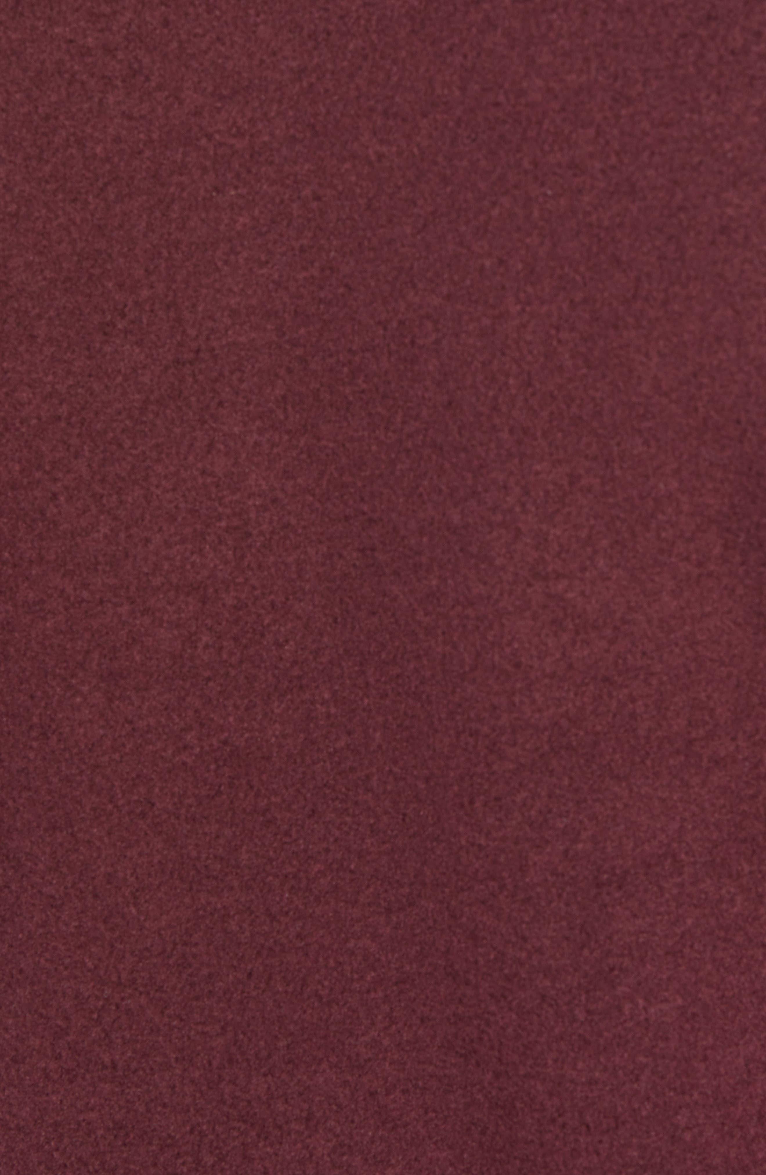 'TKA 100 Glacier' Quarter Zip Fleece Pullover,                             Alternate thumbnail 8, color,                             Fig Heather