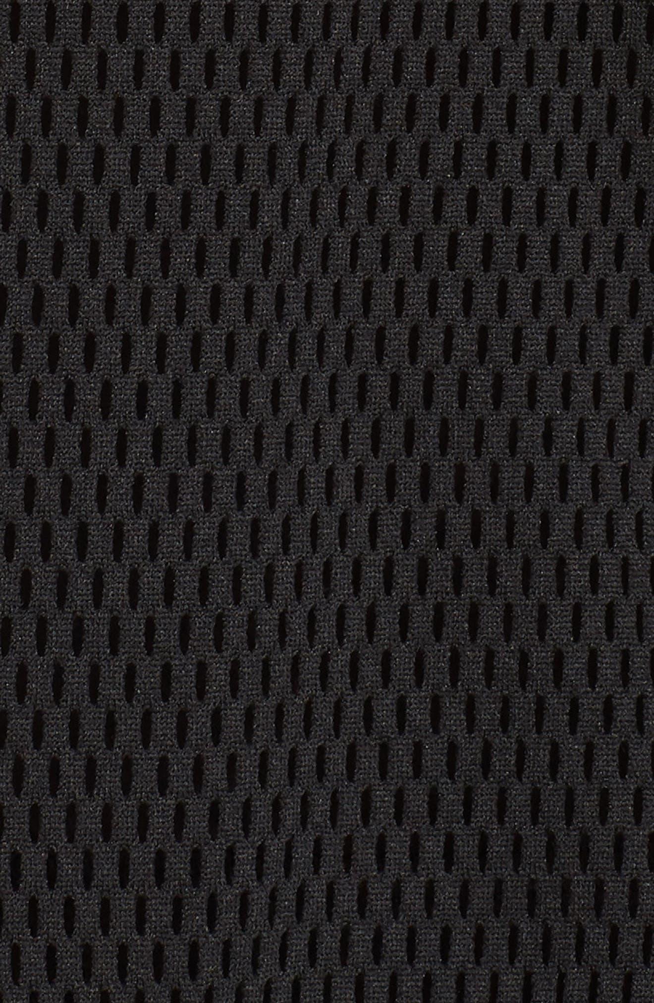 Pool Side Mesh Jacket,                             Alternate thumbnail 6, color,                             Black