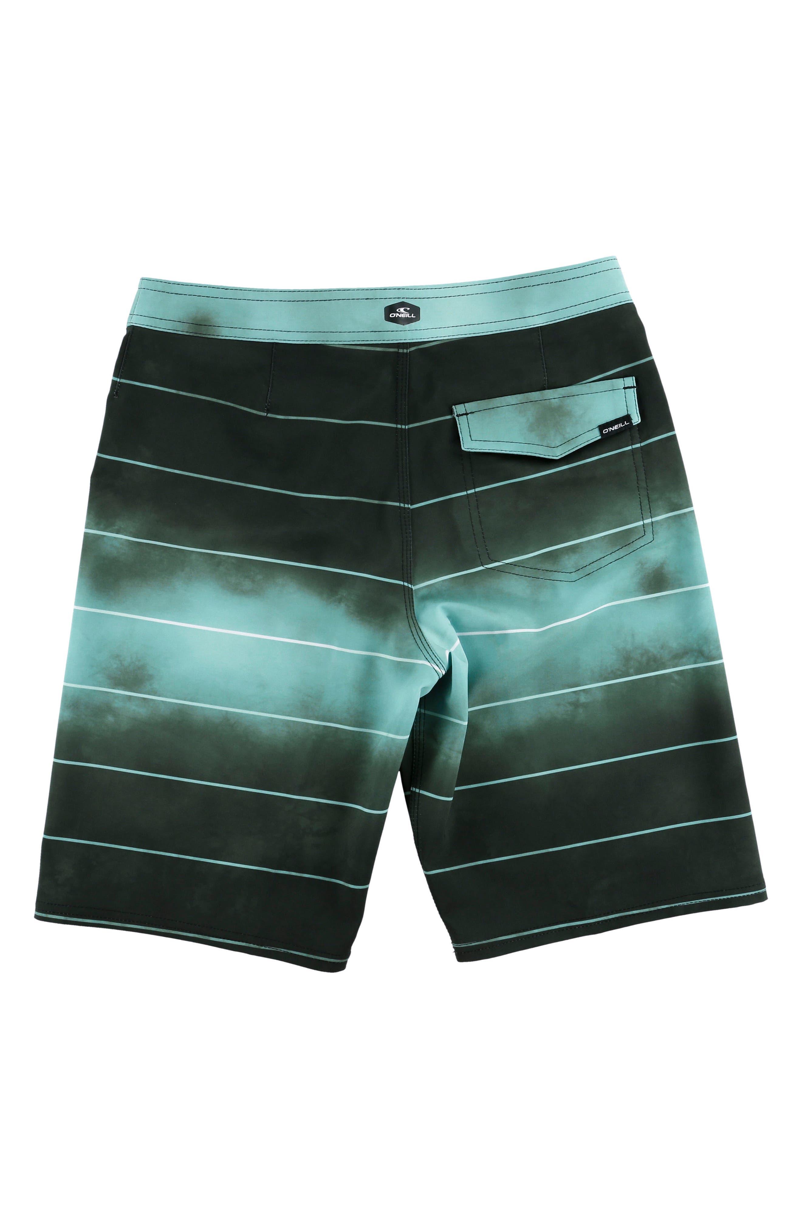 Hyperfreak Smokey Mirrors Board Shorts,                             Alternate thumbnail 2, color,                             Black