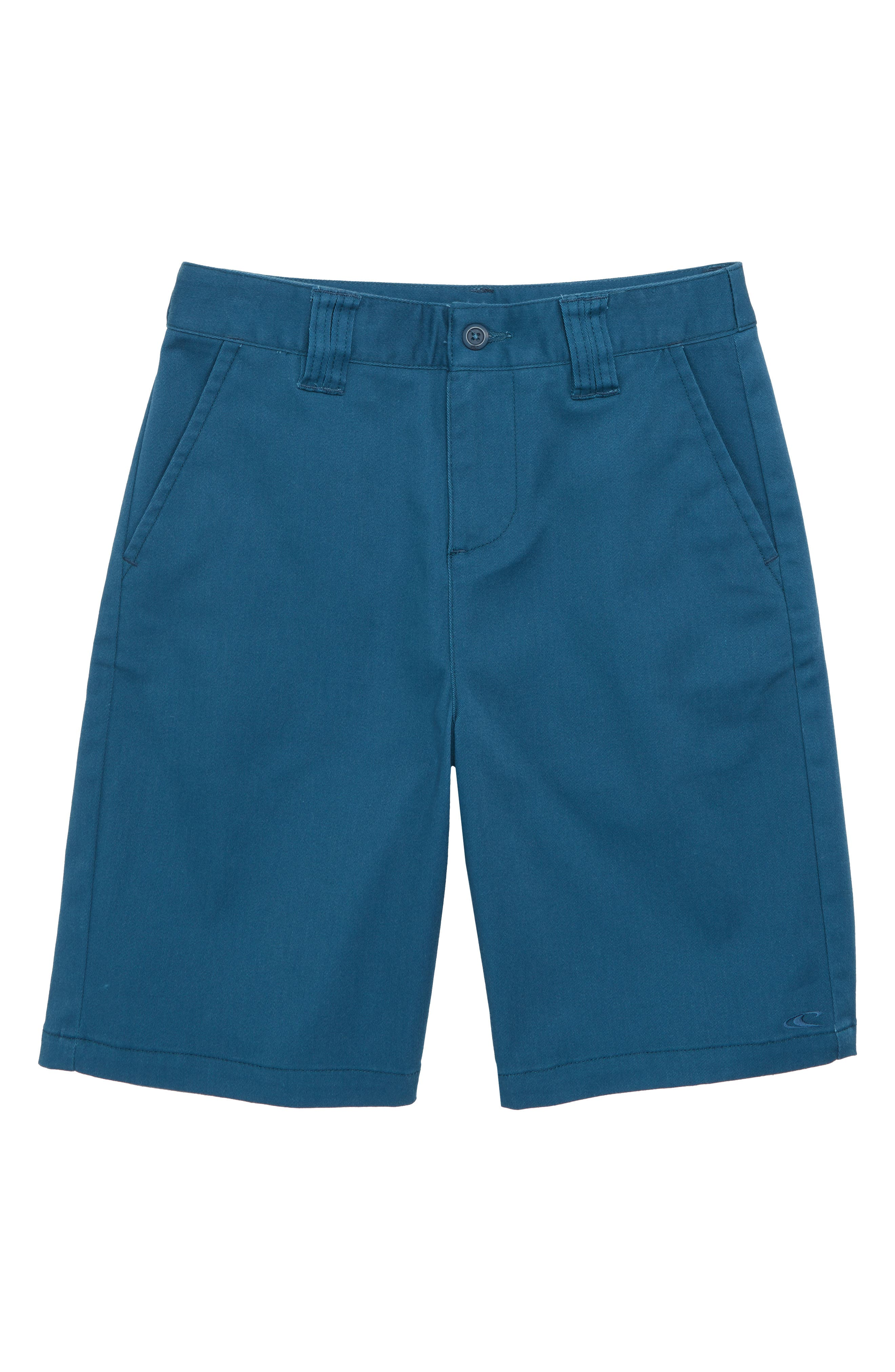 Contact Stretch Shorts,                             Main thumbnail 1, color,                             Dark Blue