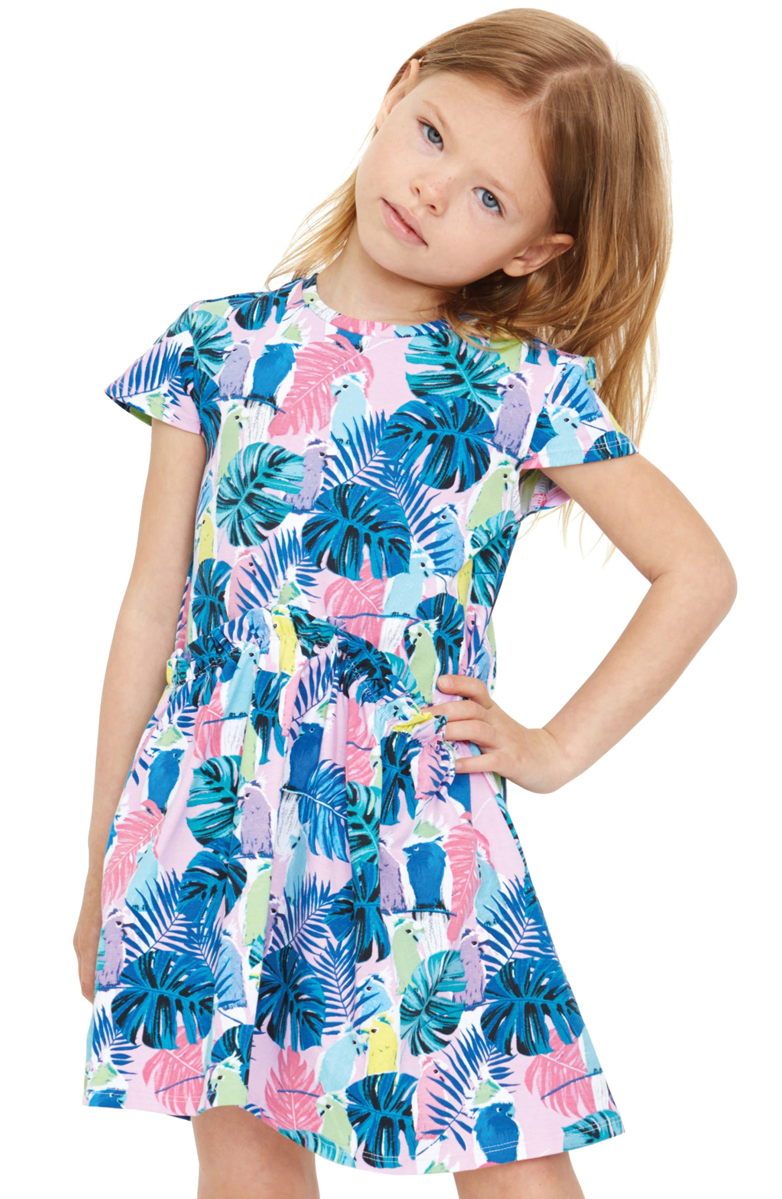 Alternate Image 2  - Art & Eden Keira Birds of Paradise Dress (Toddler Girls & Little Girls)